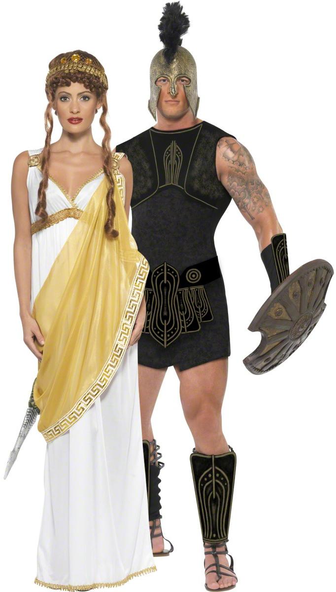Paar Kostüm Achilles Und Die Schöne Helena Paarkostümeund