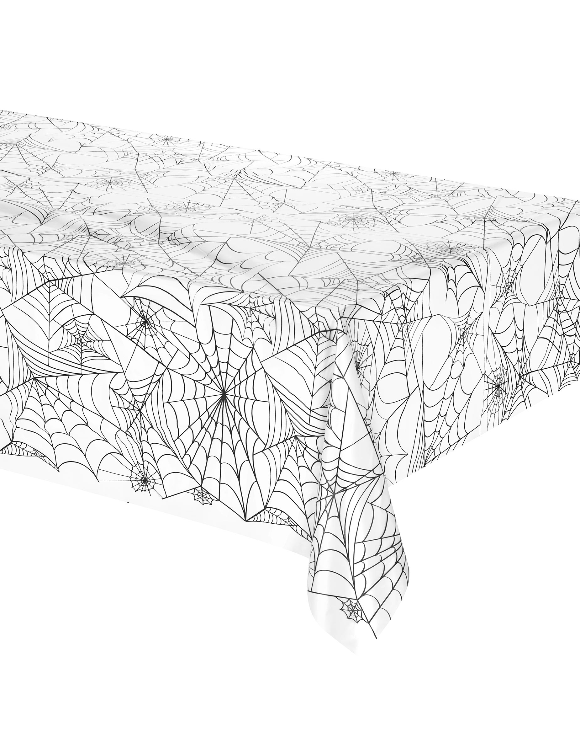 halloween spinnennetz kunststofftischdecke partydeko und g nstige faschingskost me vegaoo. Black Bedroom Furniture Sets. Home Design Ideas