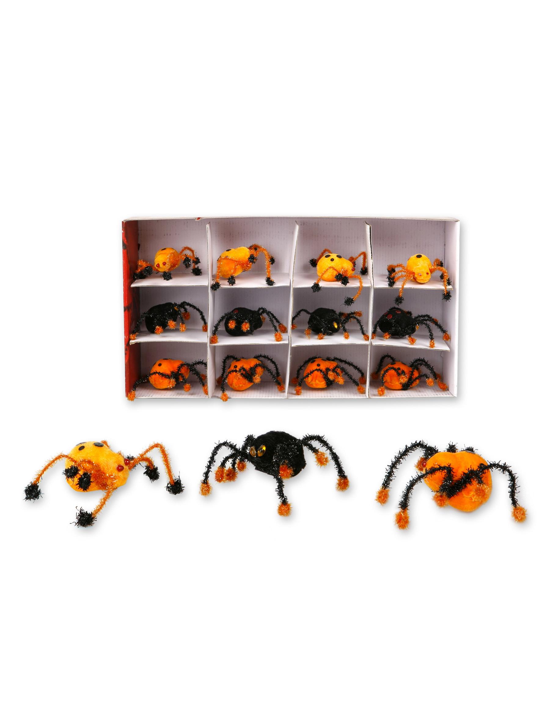 halloween orange spinnen deko partydeko und g nstige. Black Bedroom Furniture Sets. Home Design Ideas