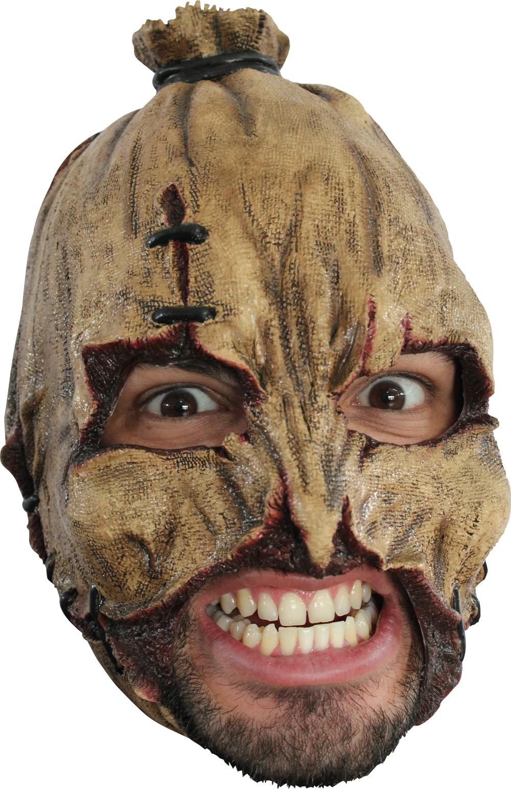 strohmann maske halloween f r erwachsene masken und. Black Bedroom Furniture Sets. Home Design Ideas