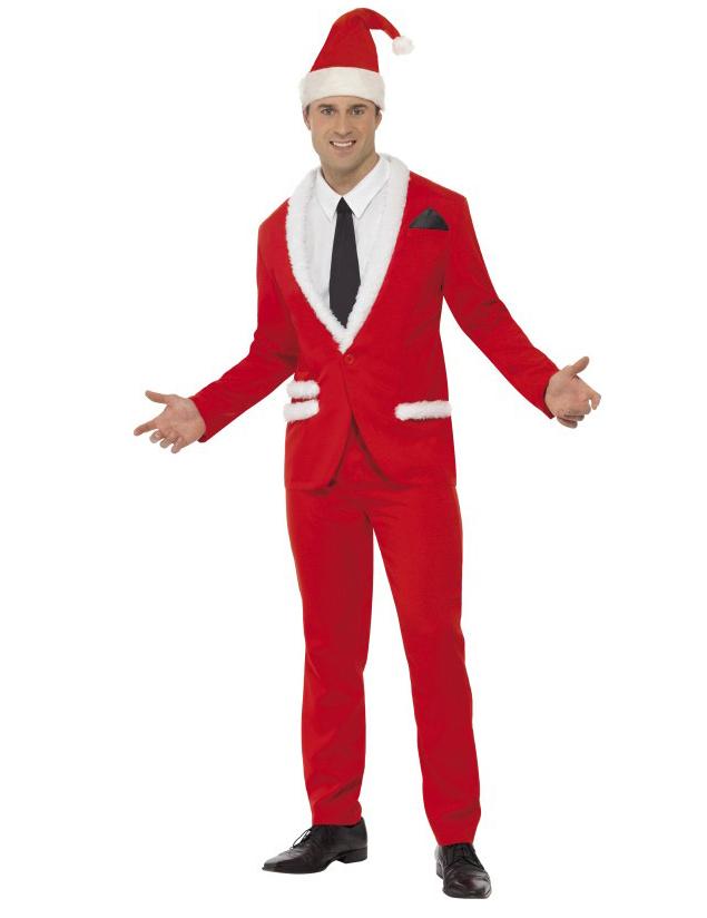 Weihnachtsmann Anzug für Herren - L 50758