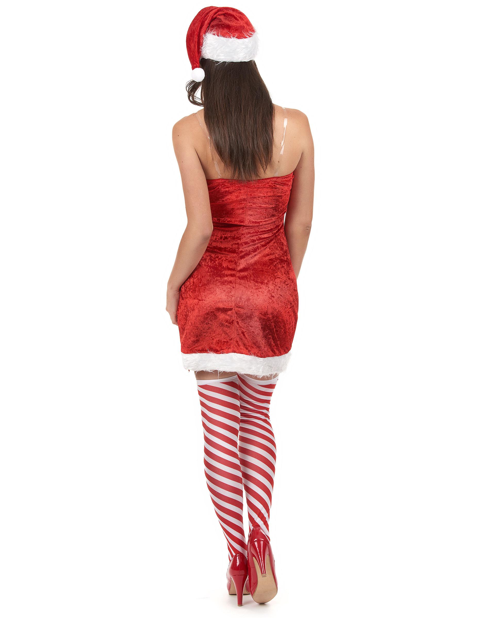 hei es weihnachtsfrau kost m f r damen. Black Bedroom Furniture Sets. Home Design Ideas