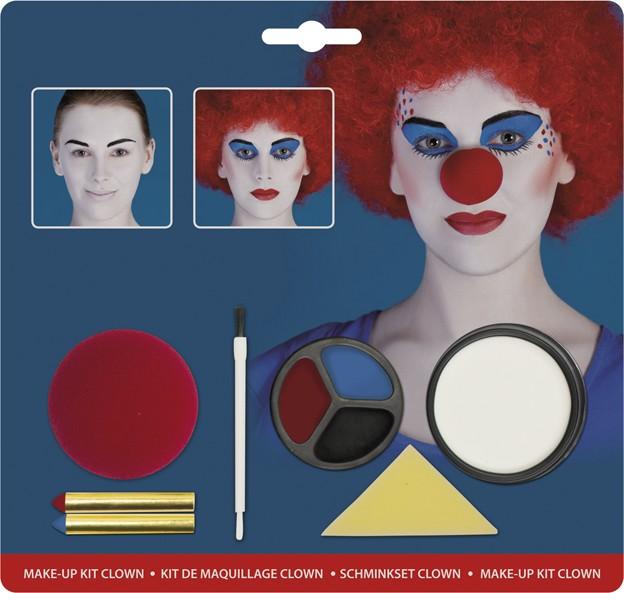 clowns schminkset schminke und g nstige faschingskost me. Black Bedroom Furniture Sets. Home Design Ideas