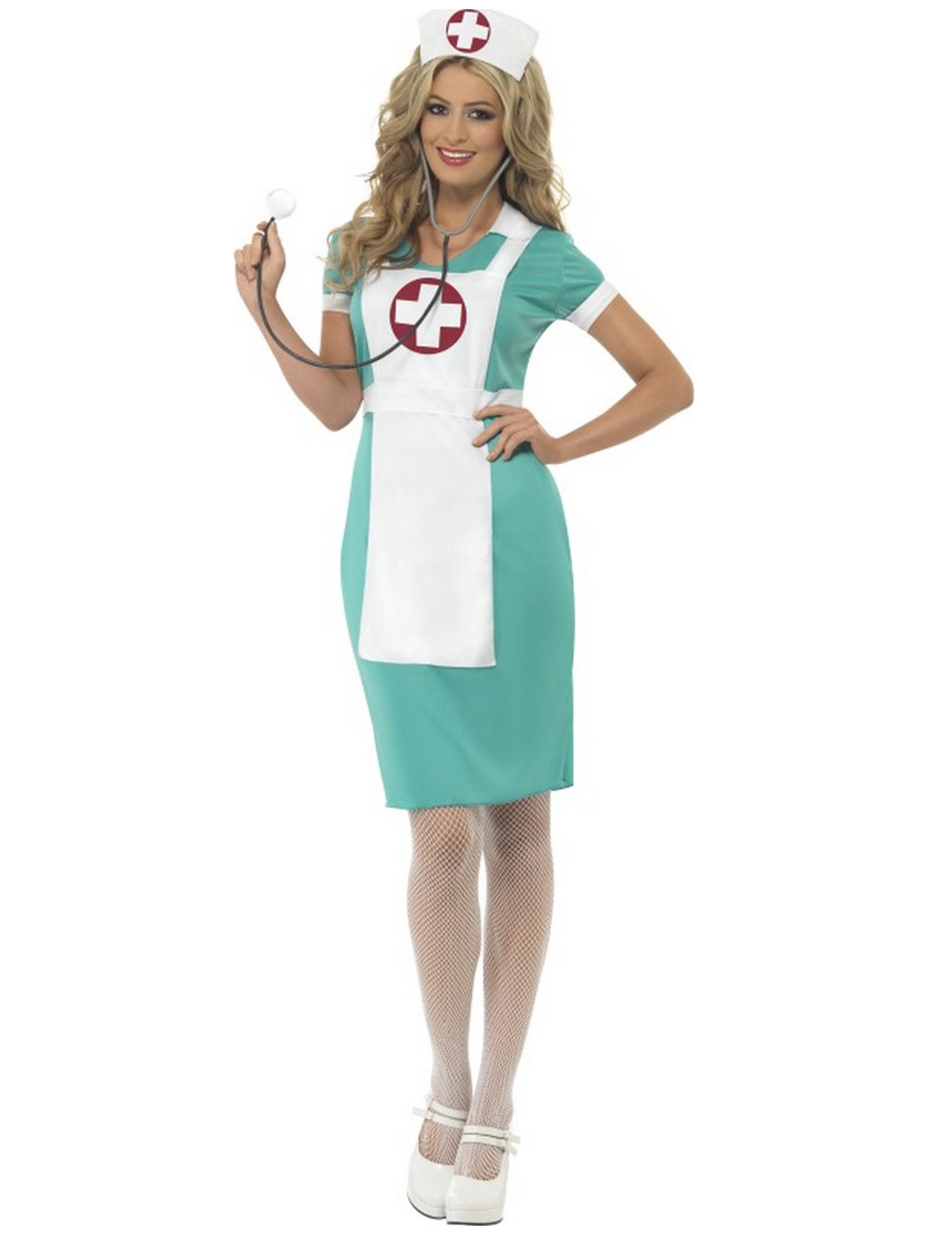 Arzthelferinnen-Kostüm für Damen - XL 152710
