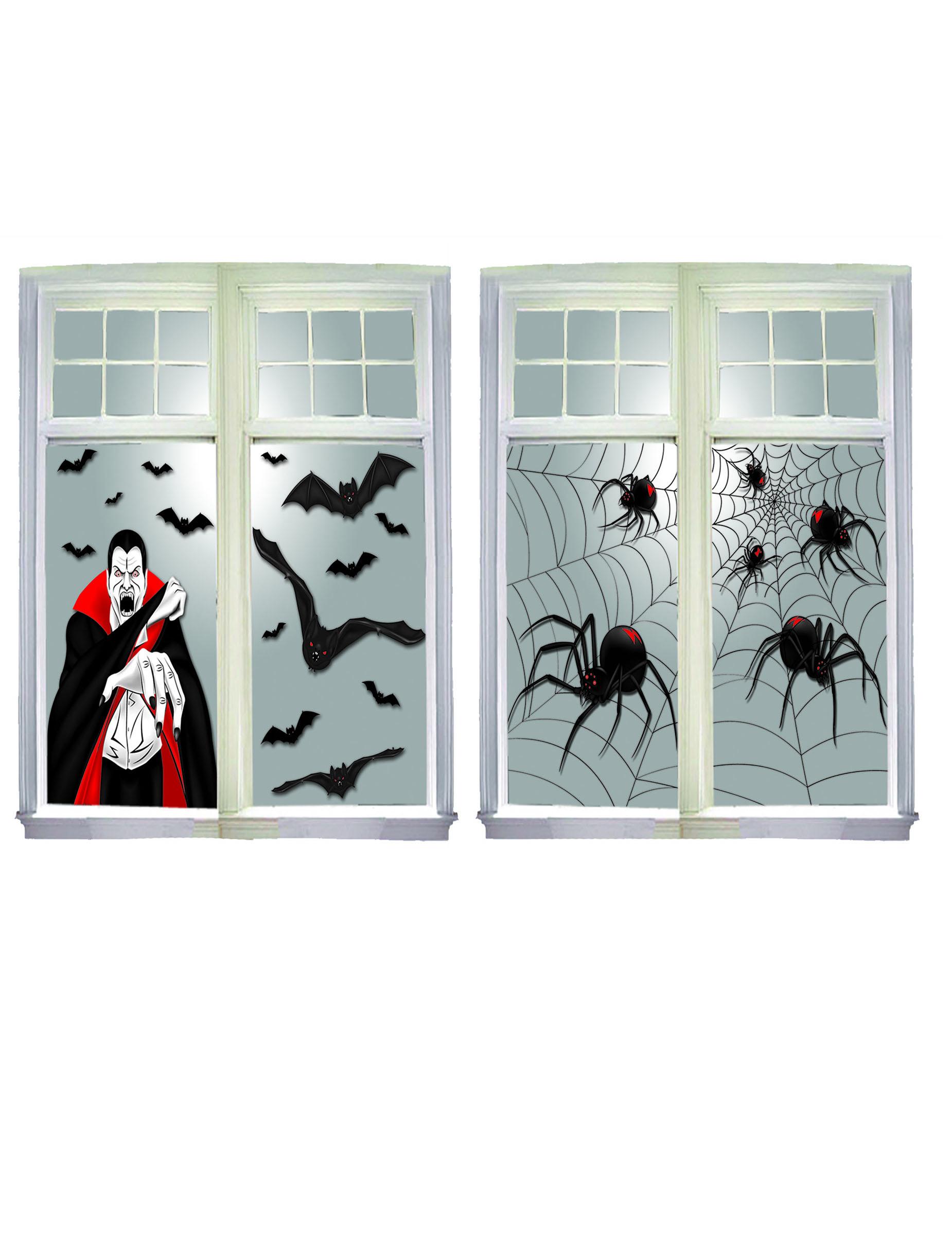 Halloween fenster deko partydeko und g nstige - Halloween fenster projektion ...