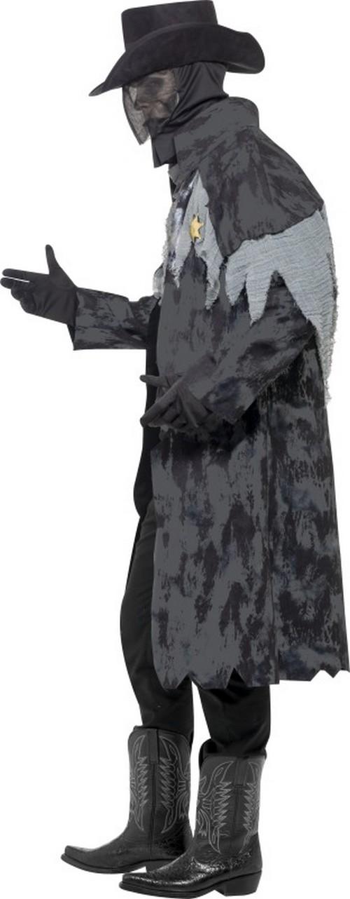 halloween phantom sheriff kost m f r herren kost me f r. Black Bedroom Furniture Sets. Home Design Ideas