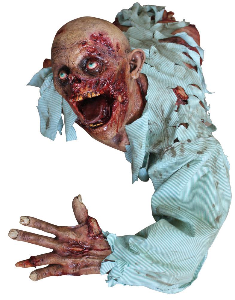 grausige halloween zombie deko partydeko und g nstige. Black Bedroom Furniture Sets. Home Design Ideas
