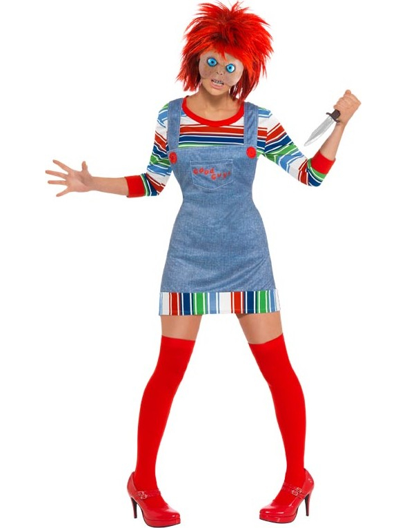Kostüm Chucky für Damen - L 64842