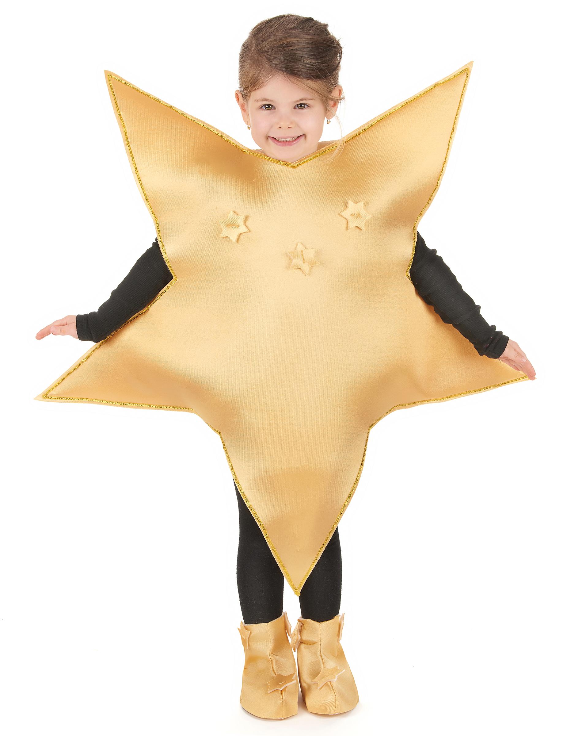 Goldenes Stern Kostüm Für Kinder Kostüme Für Kinderund Günstige