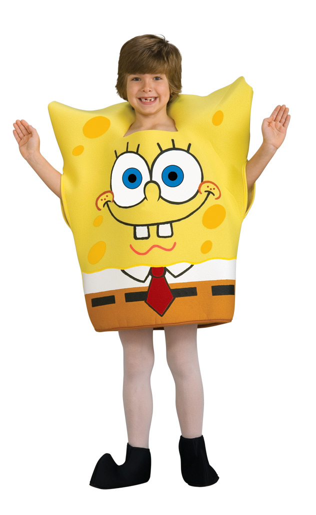 spongebob schwammkopf kost m f r kinder kost me f r kinder und g nstige faschingskost me vegaoo. Black Bedroom Furniture Sets. Home Design Ideas