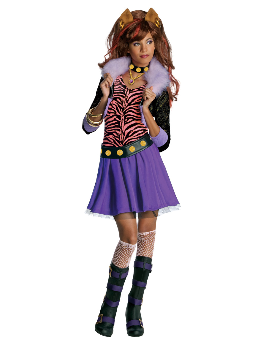 Clawdeen Wolf Monster HighTM Kostum Fur Madchen