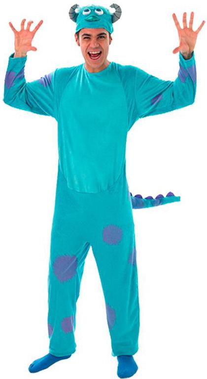Monster Uni Kostum.Sulley Die Monster Uni Kostum Fur Erwachsene Kostume Fur Erwachsene Und Gunstige Faschingskostume Vegaoo