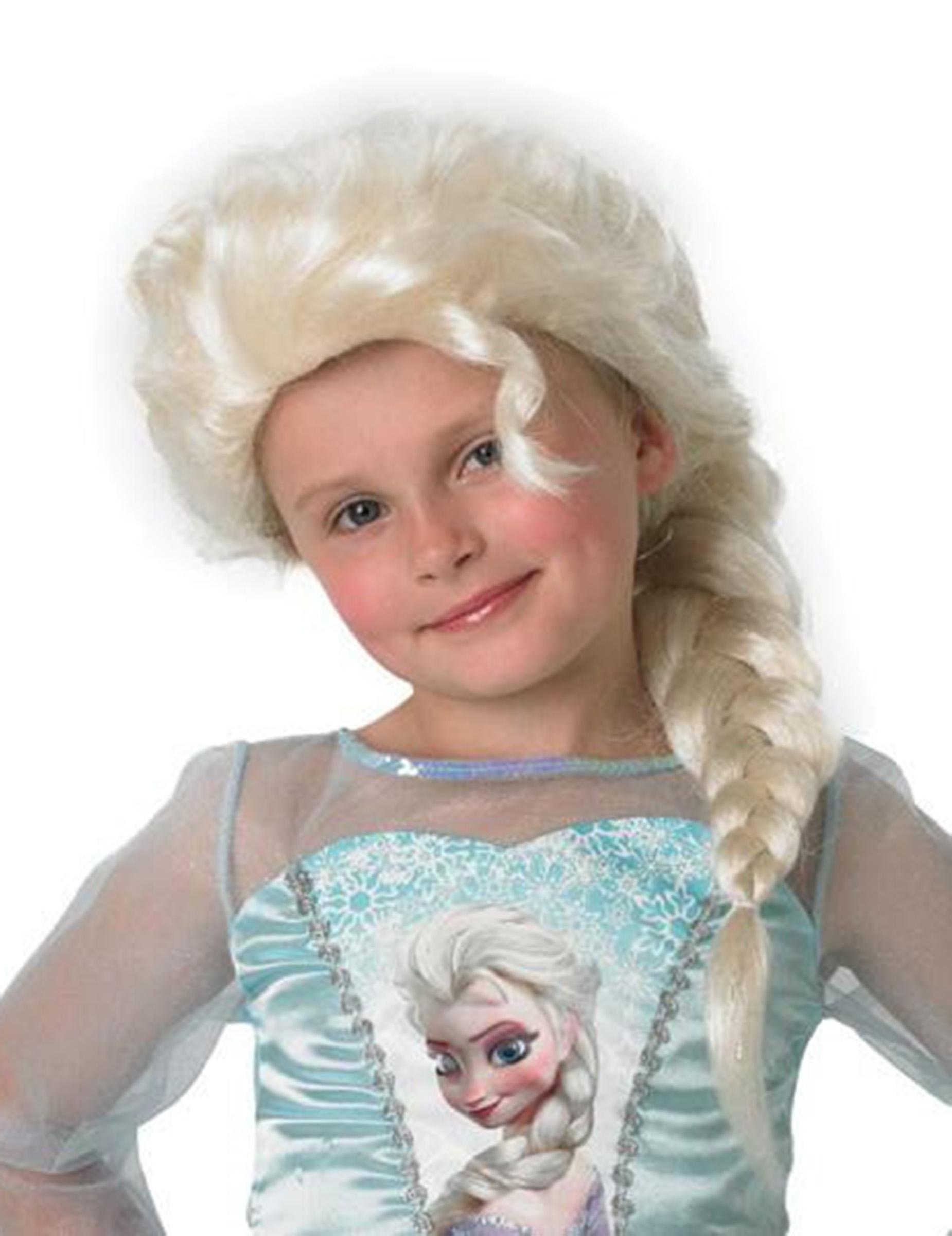 Elsa Die Eiskönigin-Perücke für Mädchen 66075