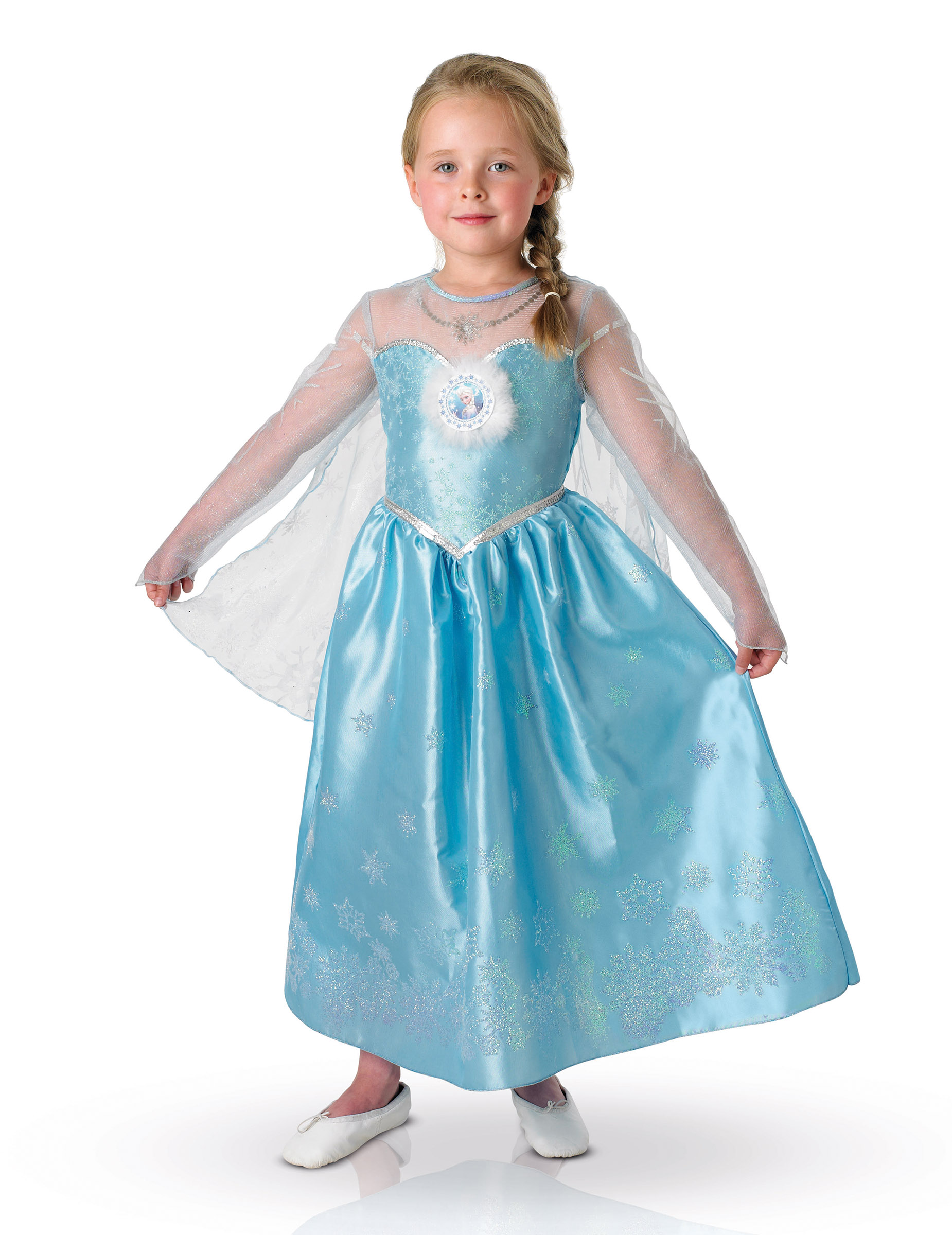Elsa Die Eiskonigin Deluxe Kostum Fur Madchen Kostume Fur Kinder