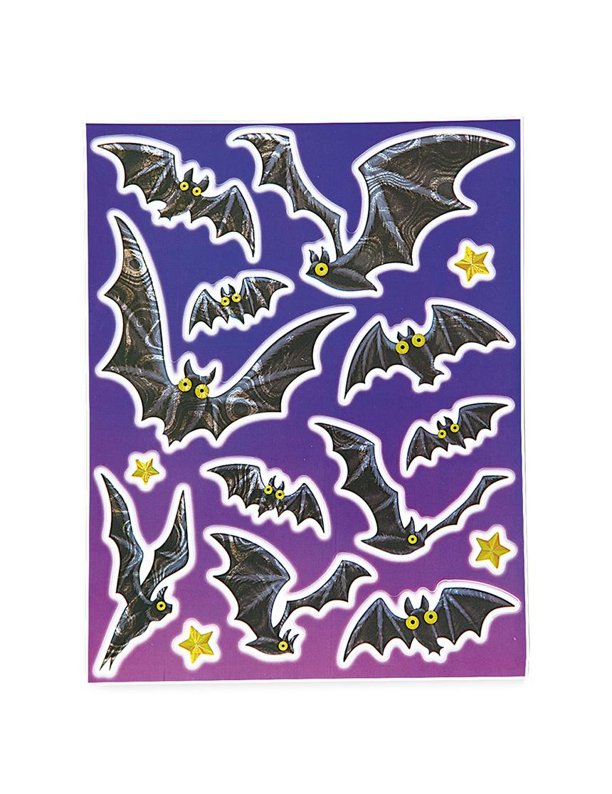 Halloween fledermaus fensterdeko g nstig bei vegaoo - Halloween fensterdeko ...