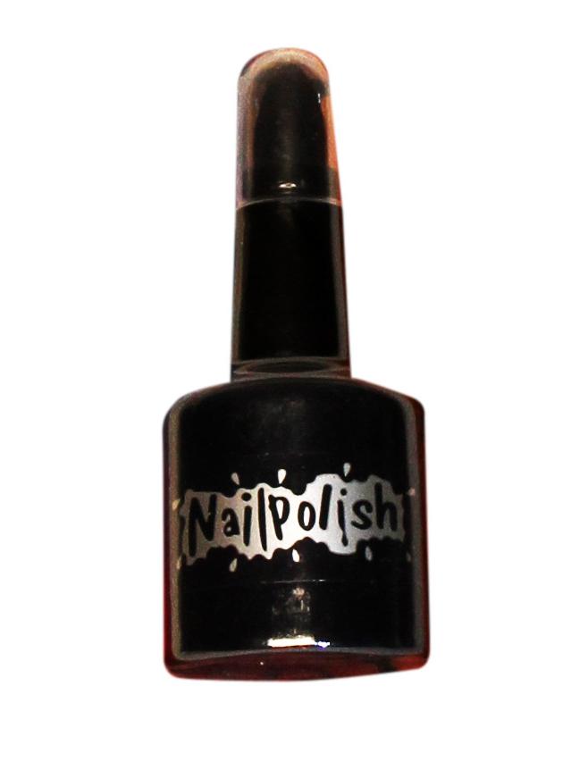 1 in 2 schwarzer halloween nagellack und lippenstift f r erwachsene g nstig bei vegaoo. Black Bedroom Furniture Sets. Home Design Ideas