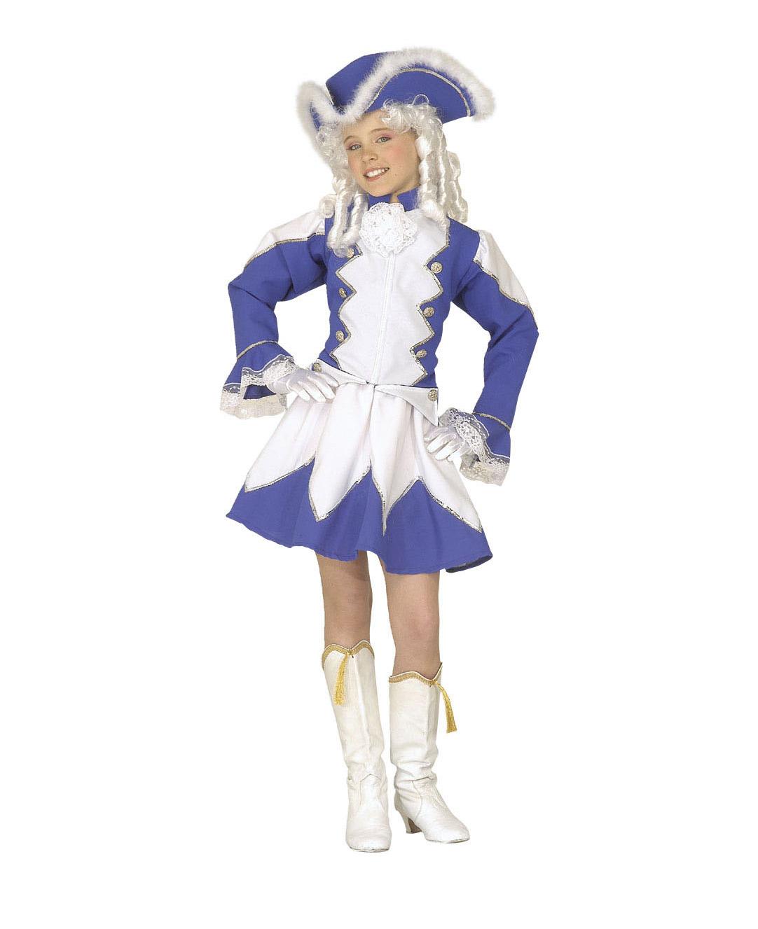 Wandfarben Fur Madchen 10: Blaues Tanzmariechen Kostüm Für Mädchen: Kostüme Für