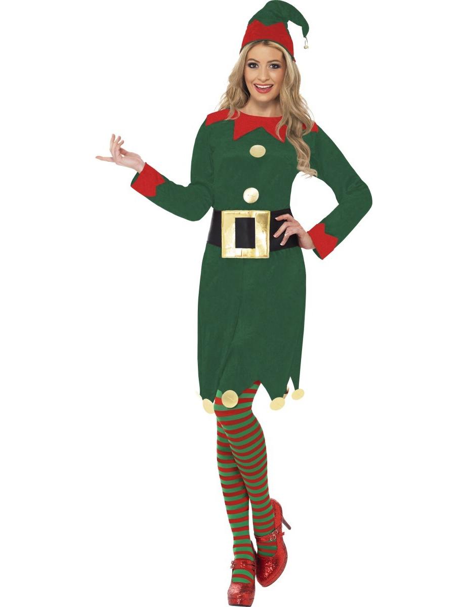 Weihnachtswichtel Kleid für Damen - L 271931