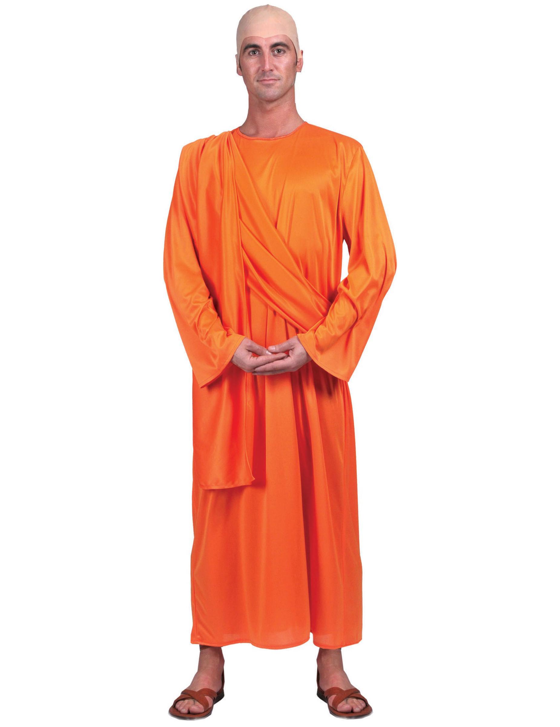 Buddhistisches Mönch-Kostüm für Erwachsene 67780