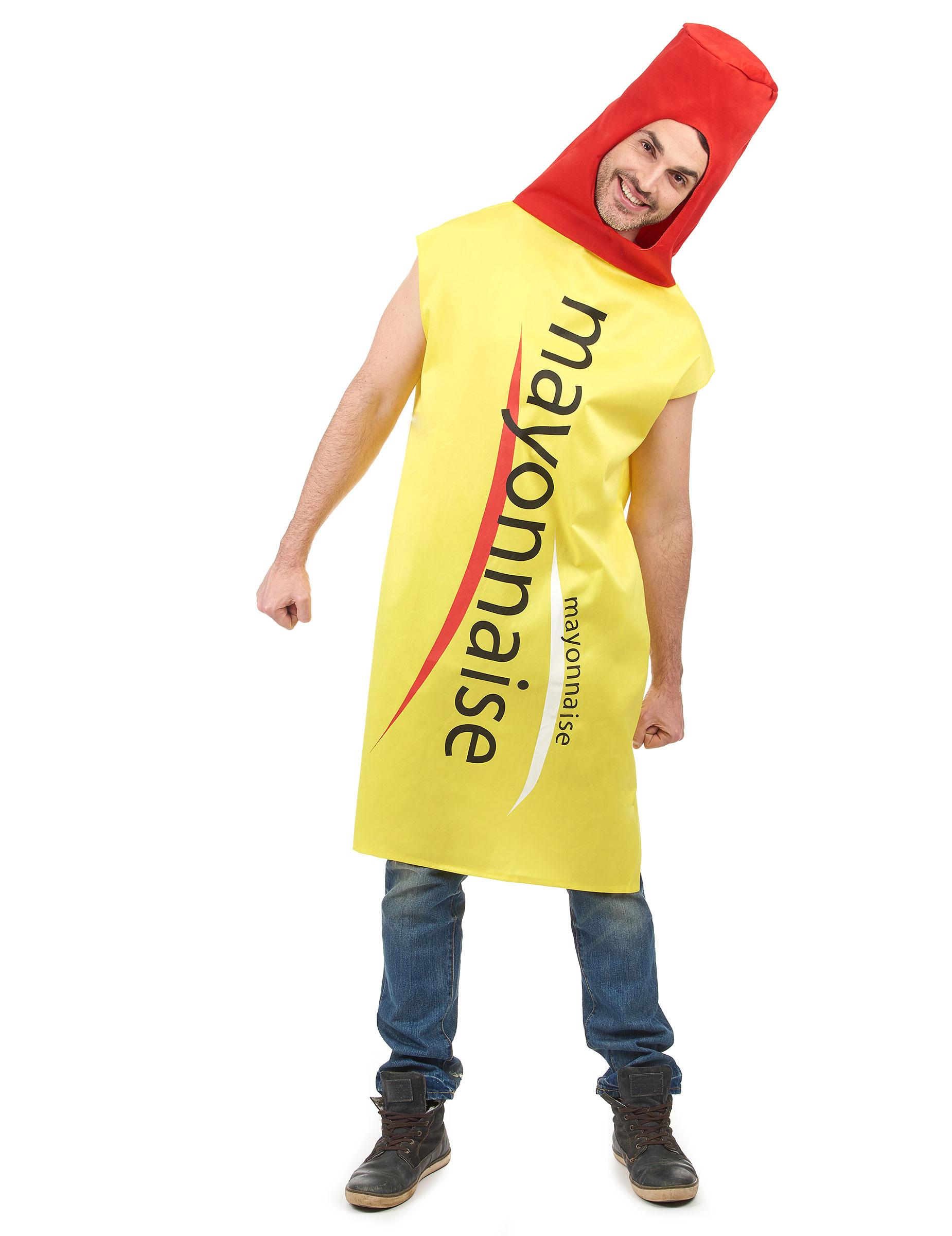 Mayonnaise-Kostüm für Erwachsene 67810