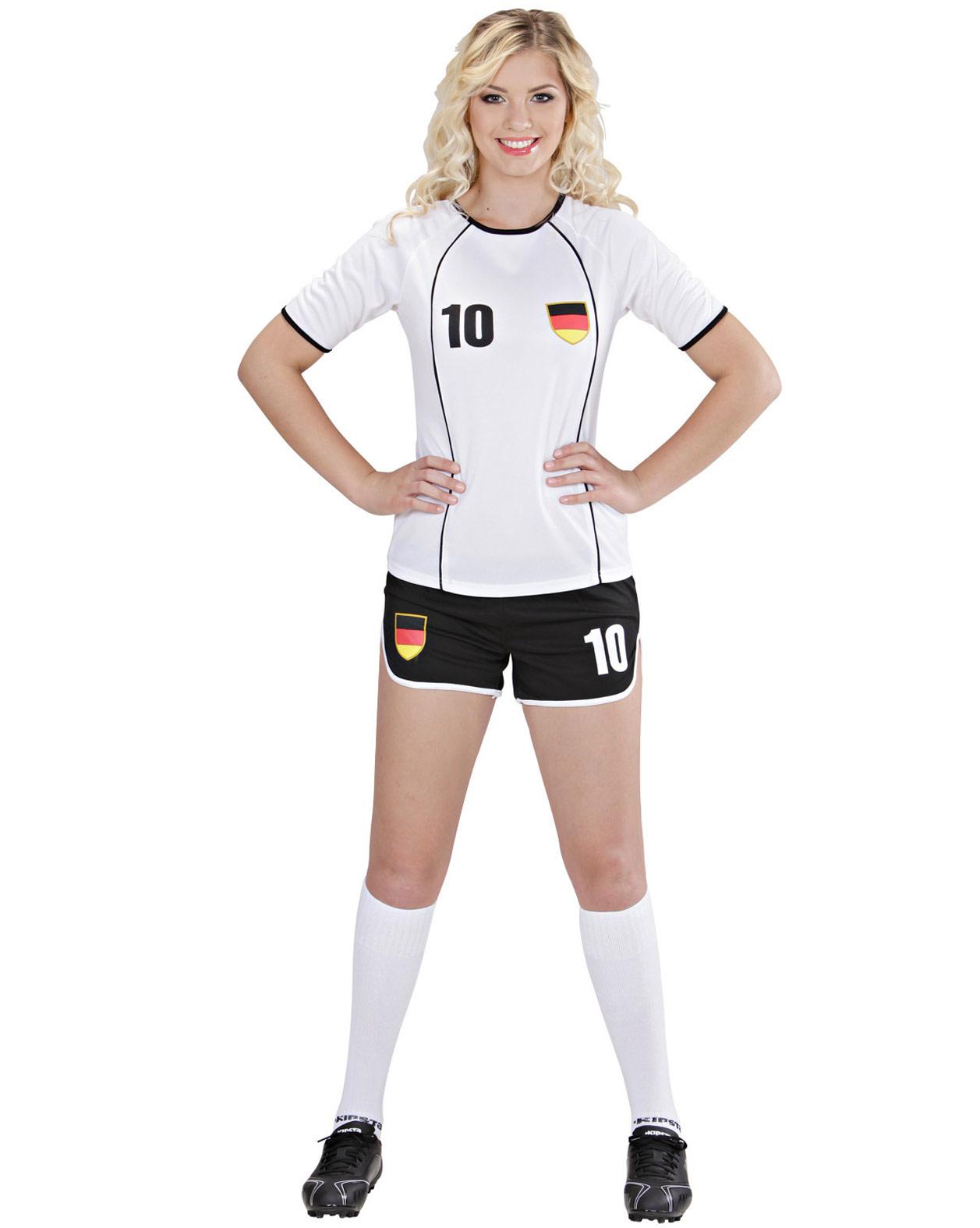 Deutschland Fussball Kostum Fur Damen Kostume Fur Erwachsene
