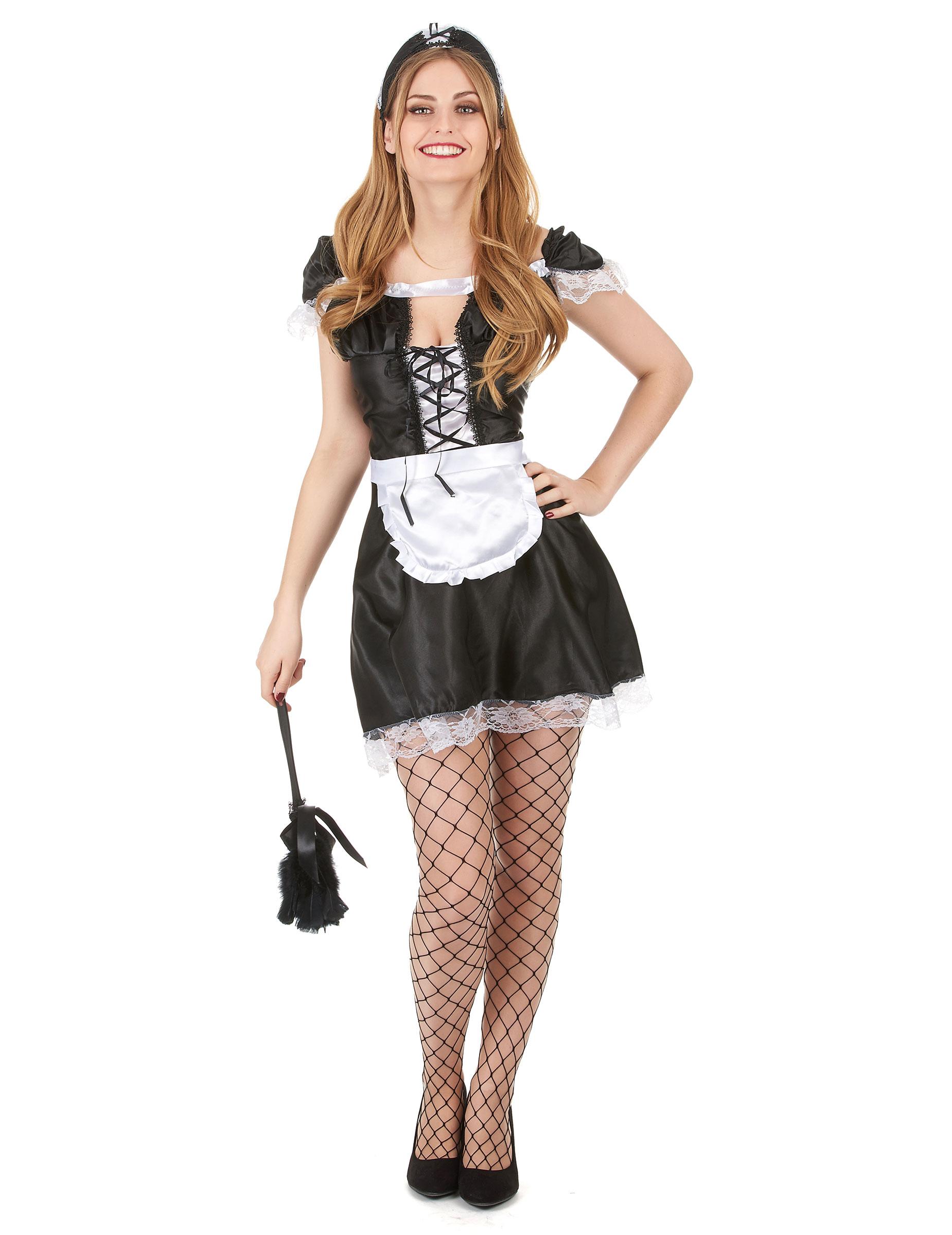 Kammerzofe Kostüm für Damen - S 68722
