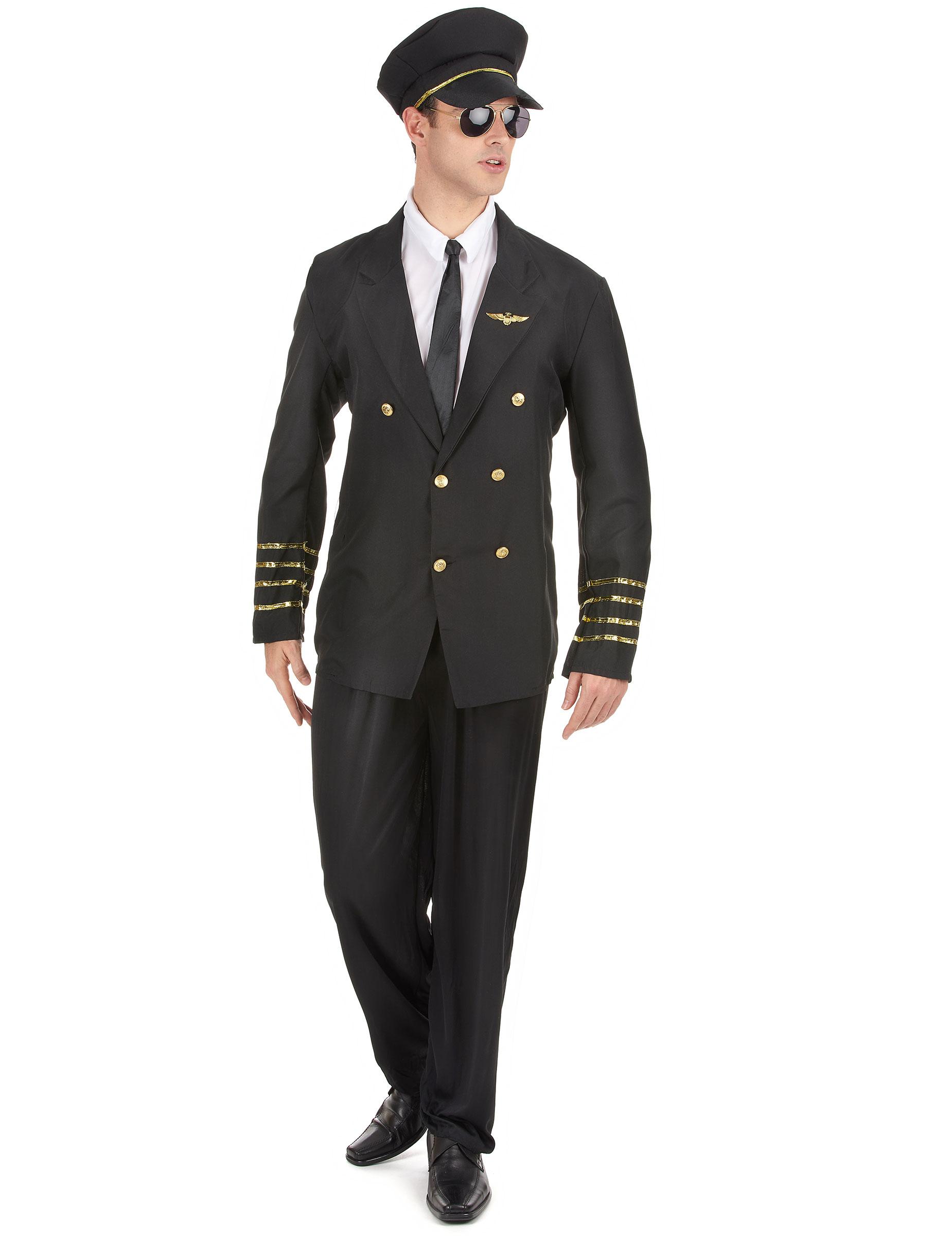 Kapitän Kostüm für Herren - M 68734