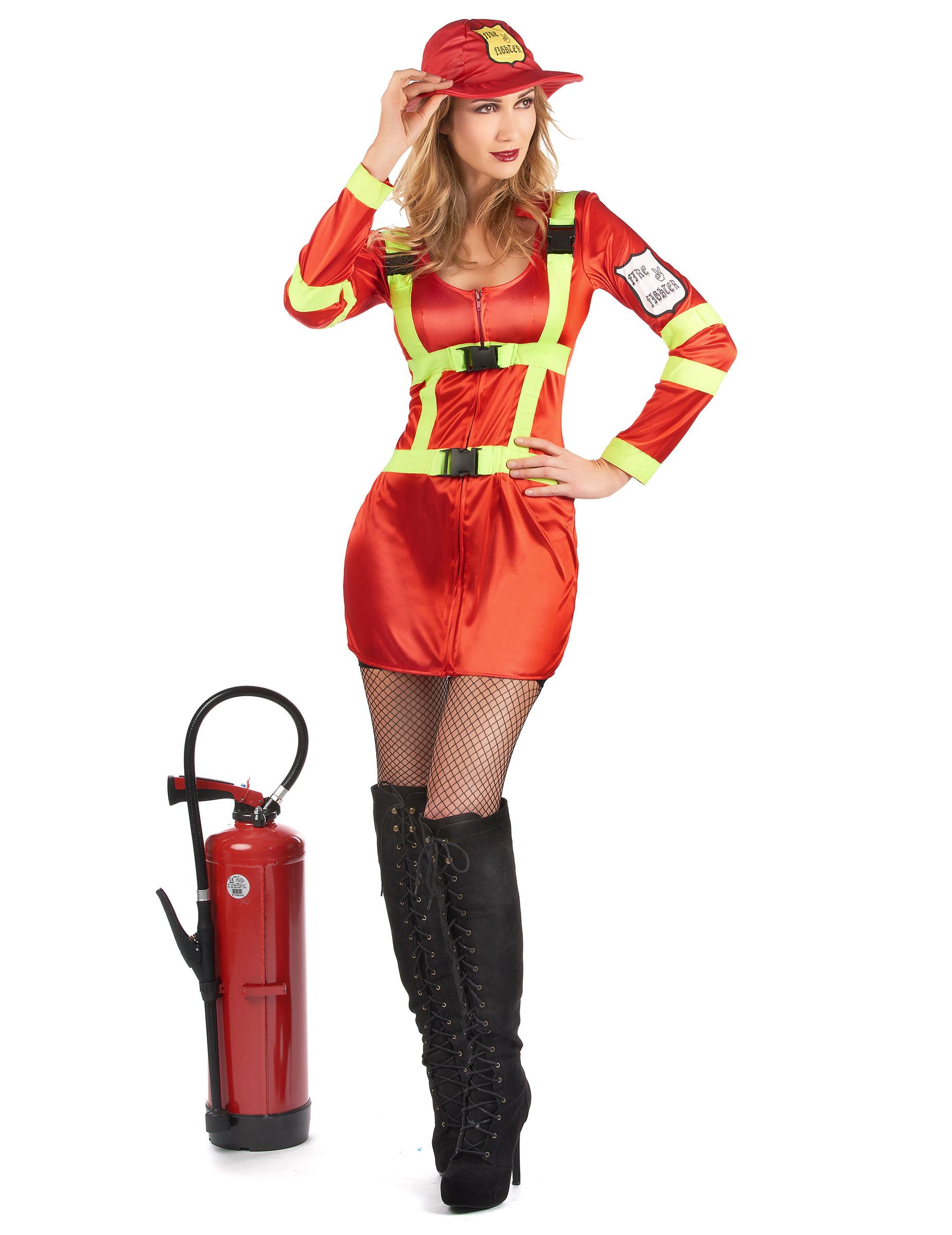 fe1b0d62f0e06f Feuerwehr-Kostüm für Frauen: Kostüme für Erwachsene,und günstige ...
