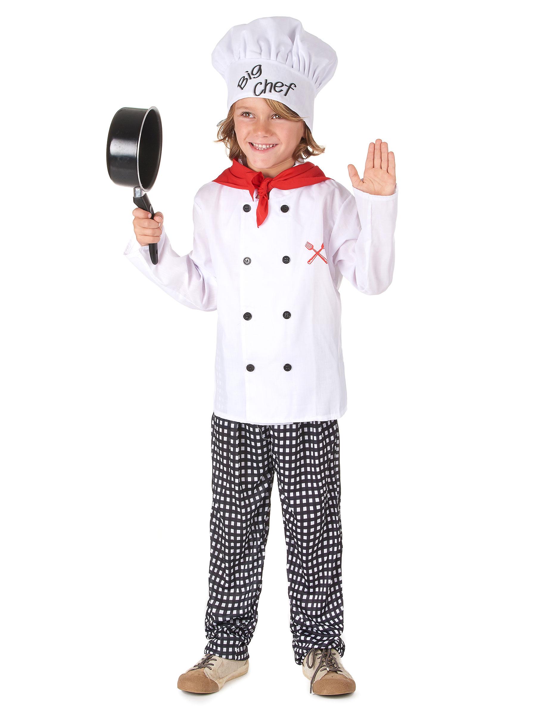 Chefkoch Kostüm Für Jungen: Kostüme Für Kinder,und