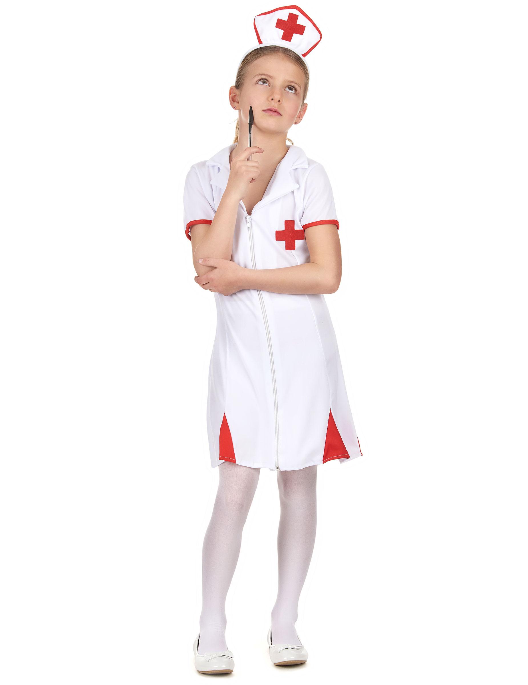 Krankenschwester Kostum Fur Madchen Kostume Fur Kinder Und Gunstige