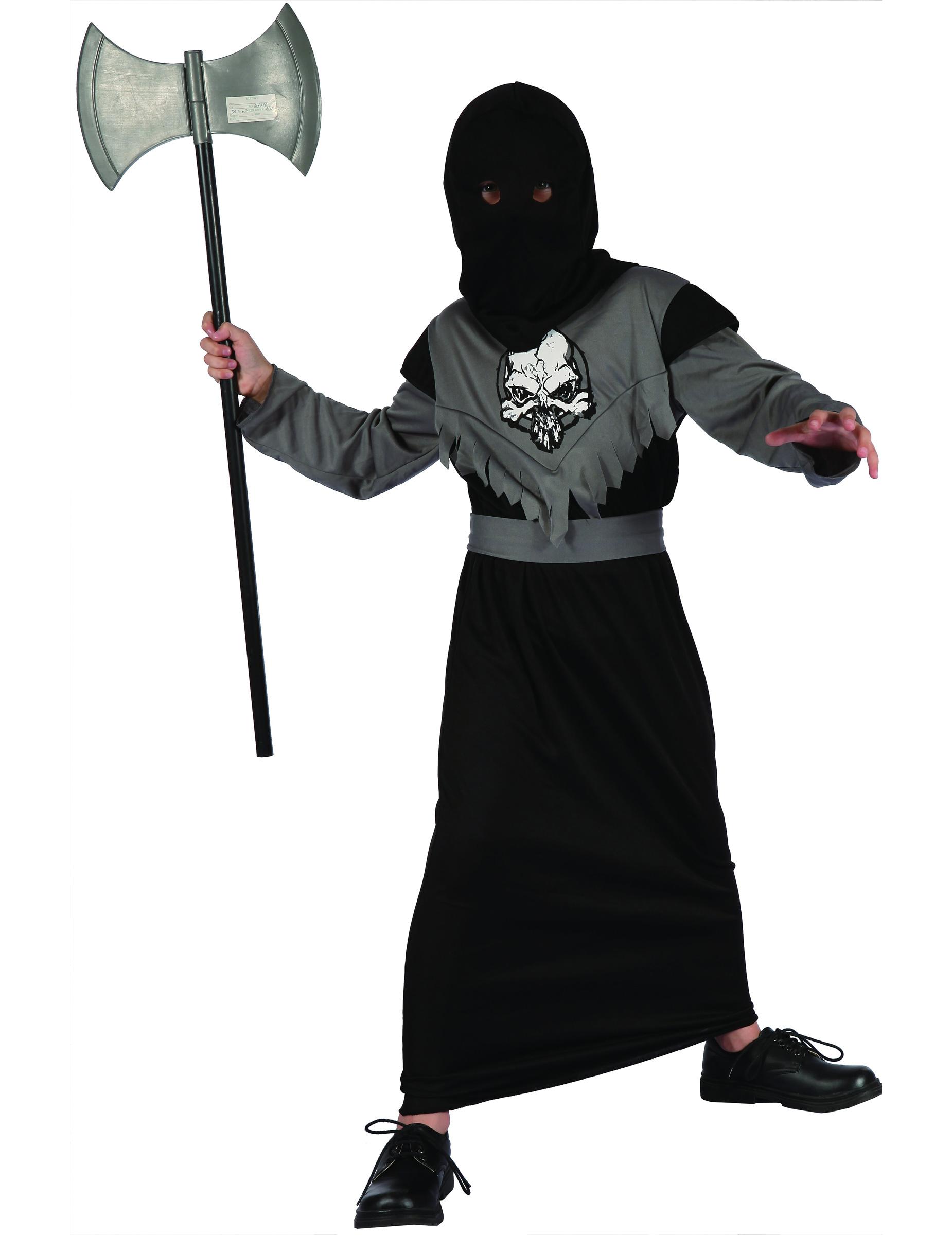 Scharfrichter Kostüm für Jungen - 122/134 (7-9 Jahre) 69129