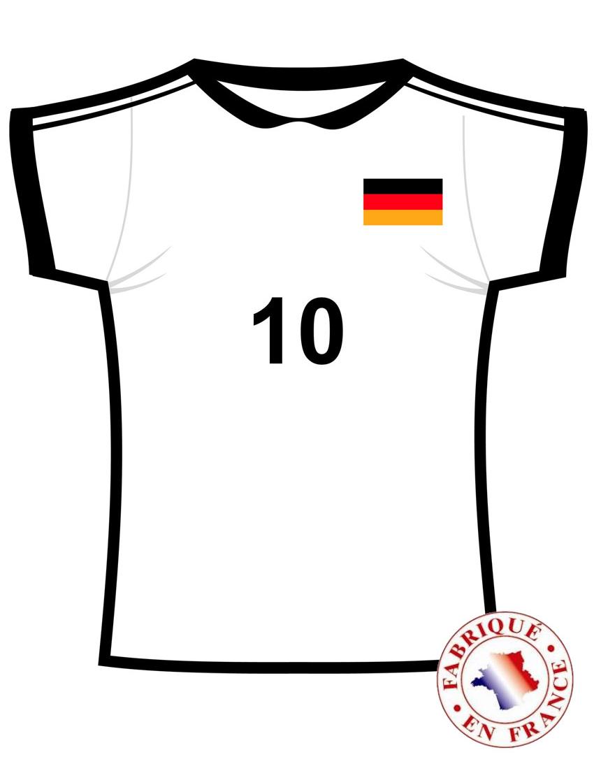 Deutschland trikot deko for Deko deutschland