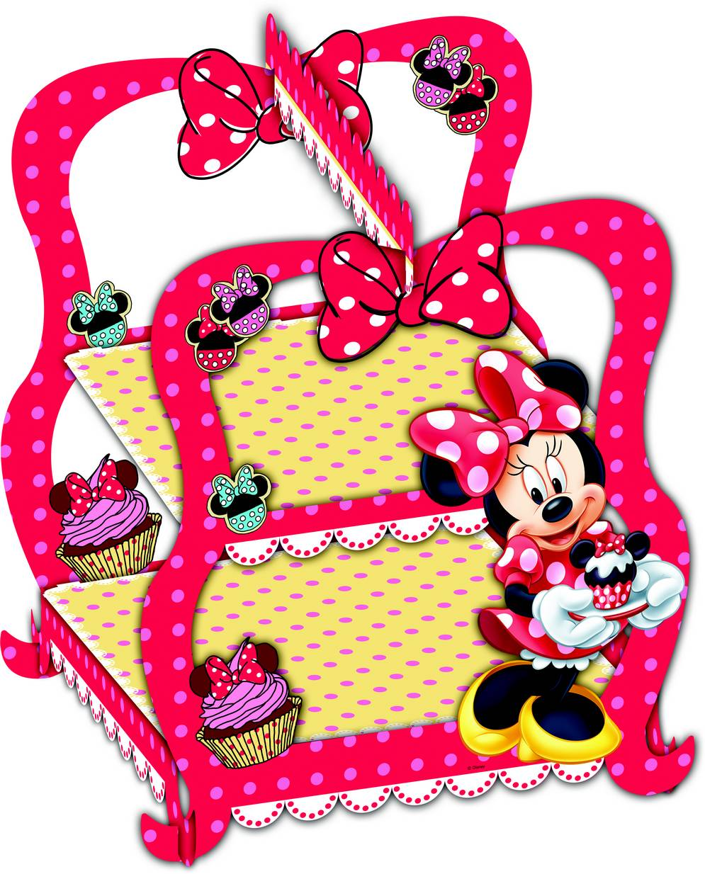 S e kuchen dekoration minnie partydeko und g nstige for Kuche dekoration shop