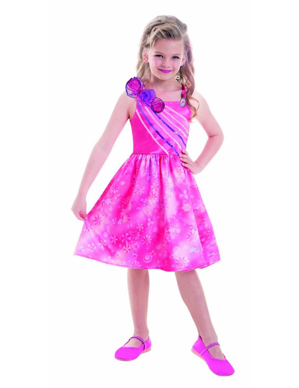 Barbie™ Prinzessinenkleid - Kinderkostüme bei VEGAOO