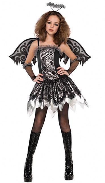 halloween gefallener engel kost m f r junge m dchen kost me f r erwachsene und g nstige. Black Bedroom Furniture Sets. Home Design Ideas