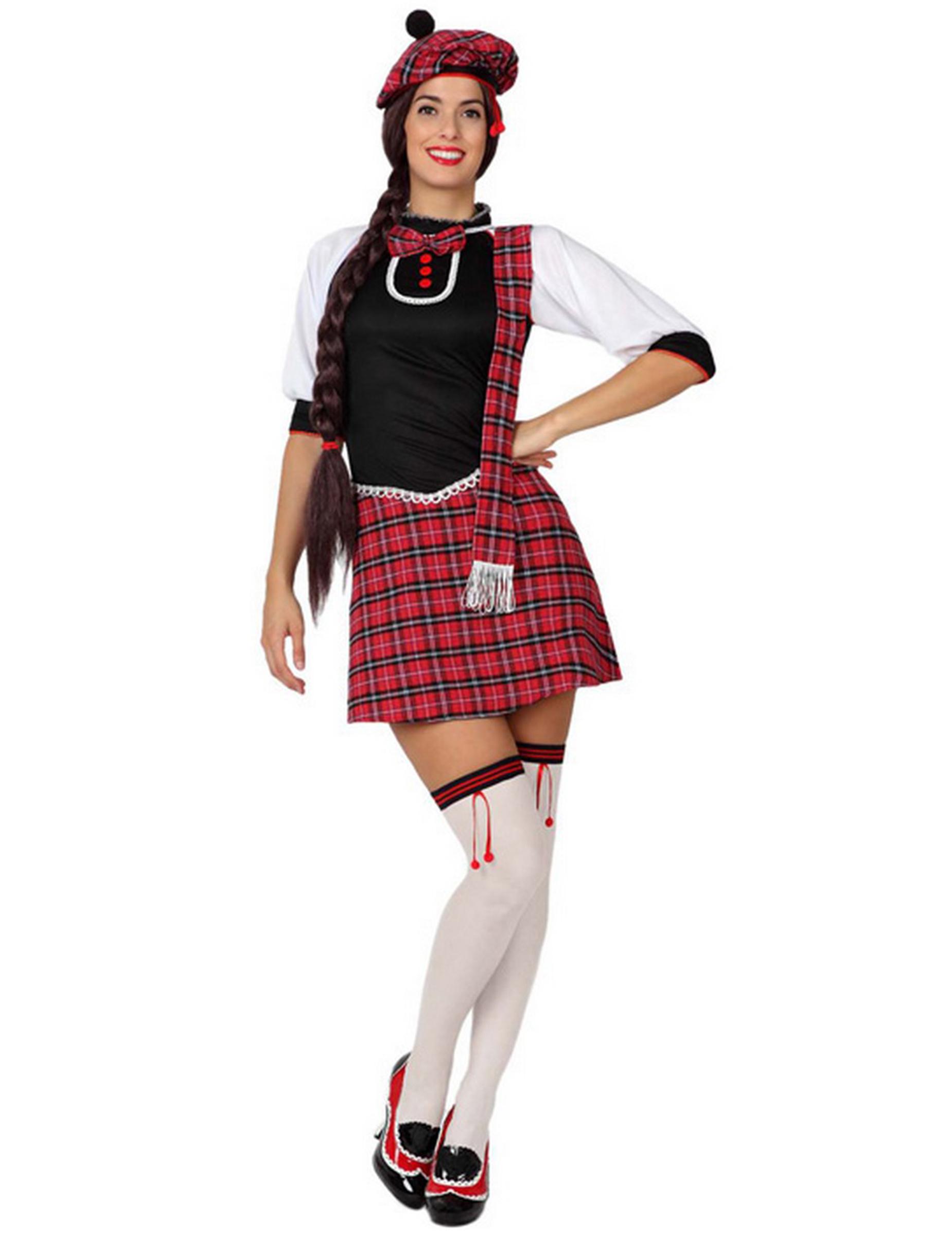 Schotten-Kostüm für Damen - XL 72051