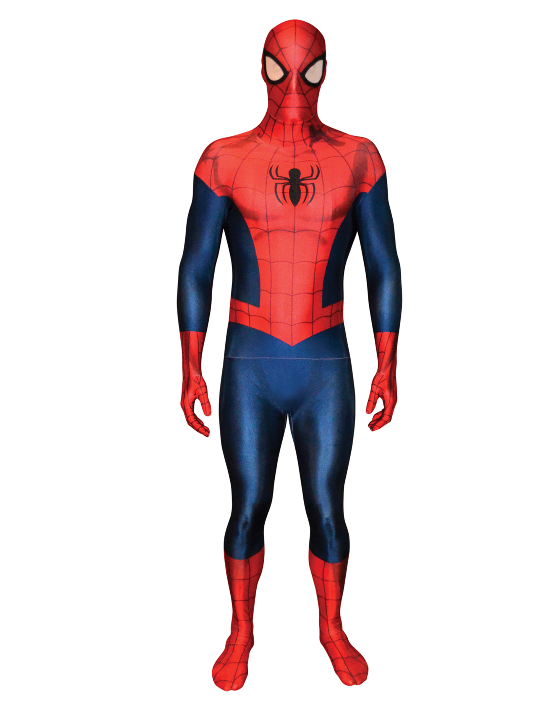 deluxe spiderman morphsuits kost m kost me f r. Black Bedroom Furniture Sets. Home Design Ideas