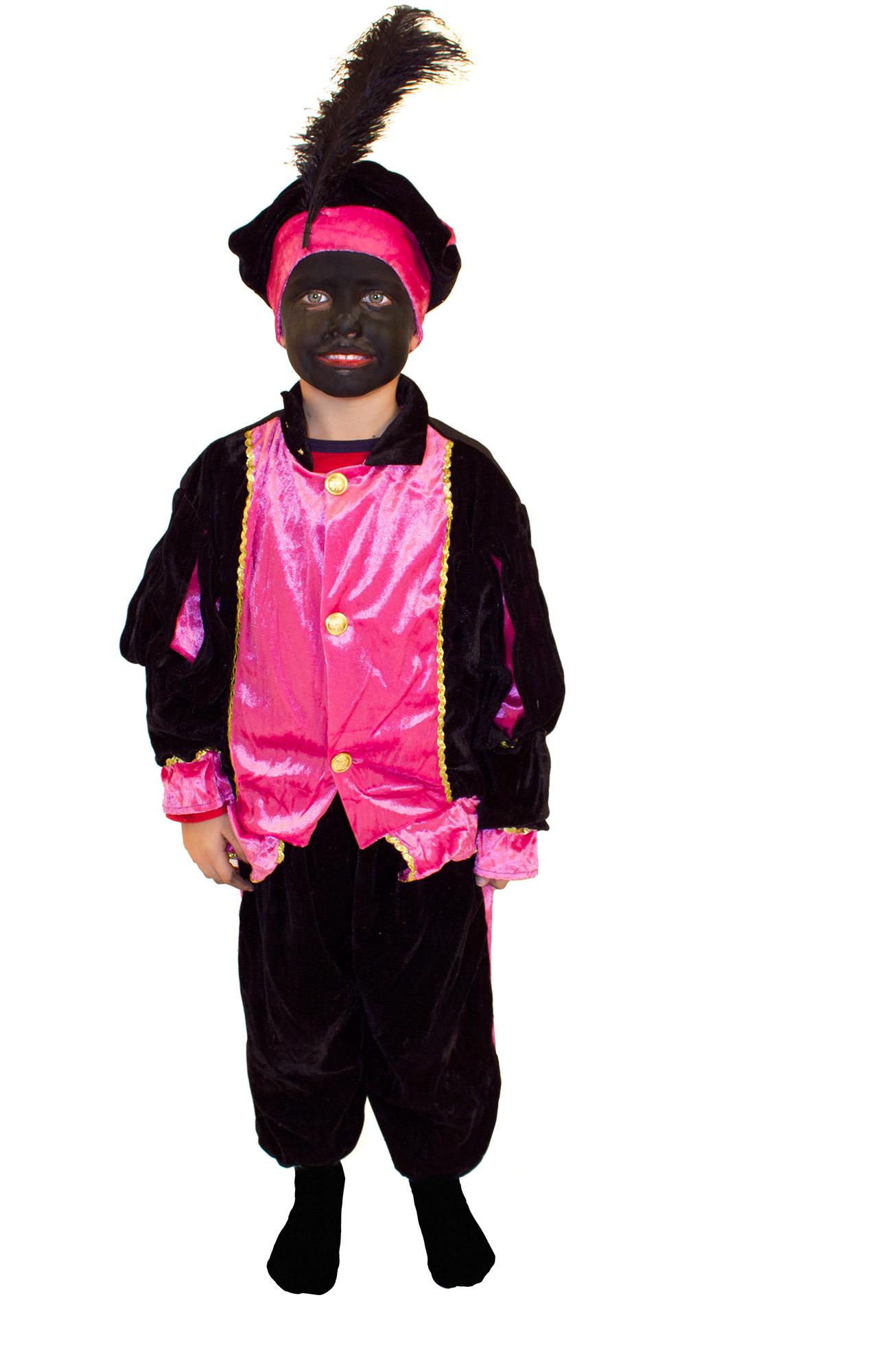 knecht ruprecht verkleidung rosa f r kinder kost me f r kinder und g nstige faschingskost me. Black Bedroom Furniture Sets. Home Design Ideas