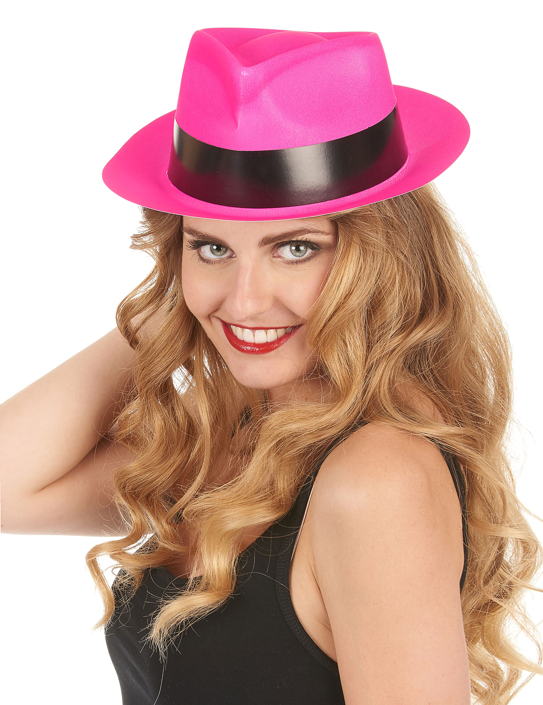 Party Hut neonrosa für Erwachsene - stylishe Accessoires bei VEGAOO
