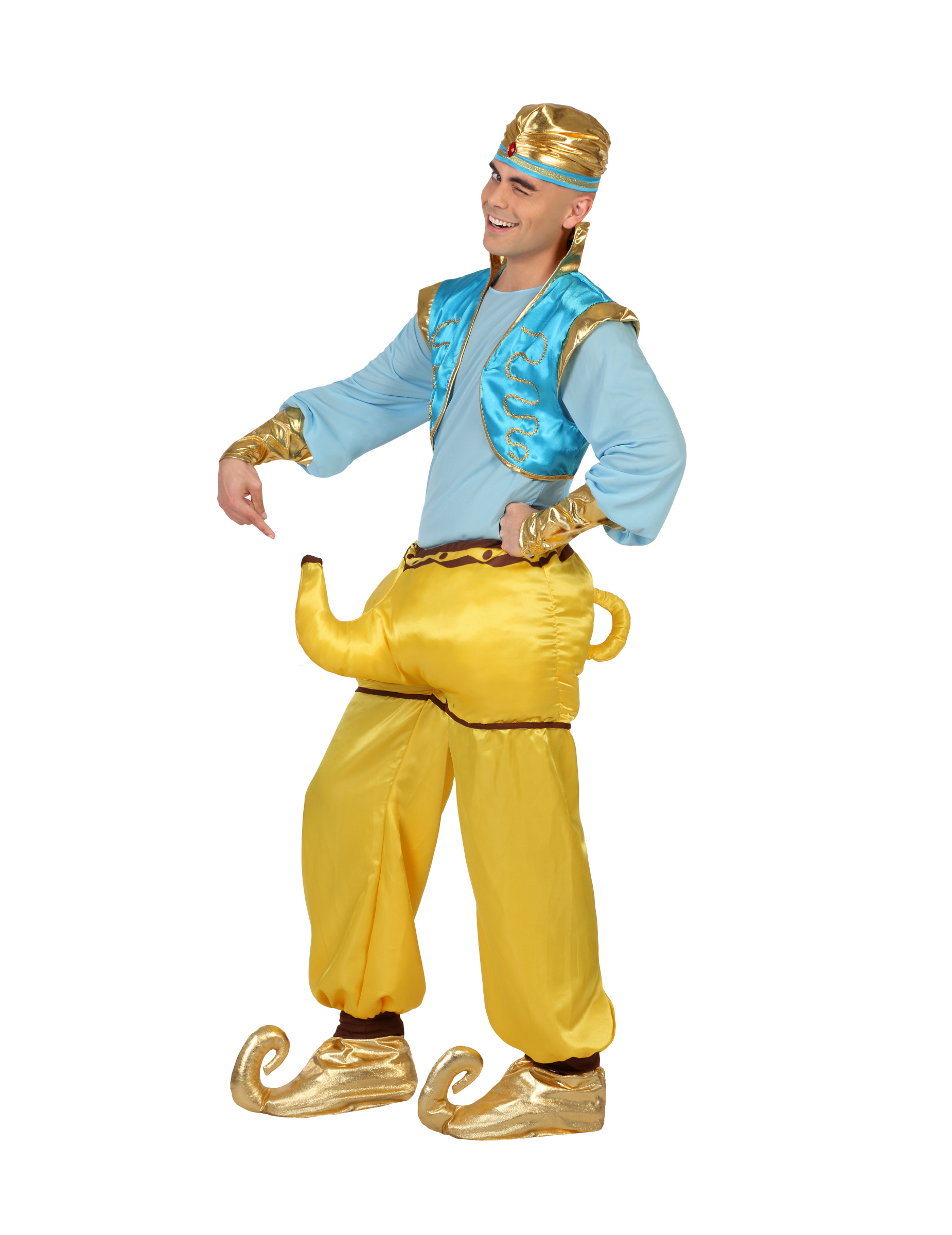 lustiges kostum flaschengeist fur erwachsene
