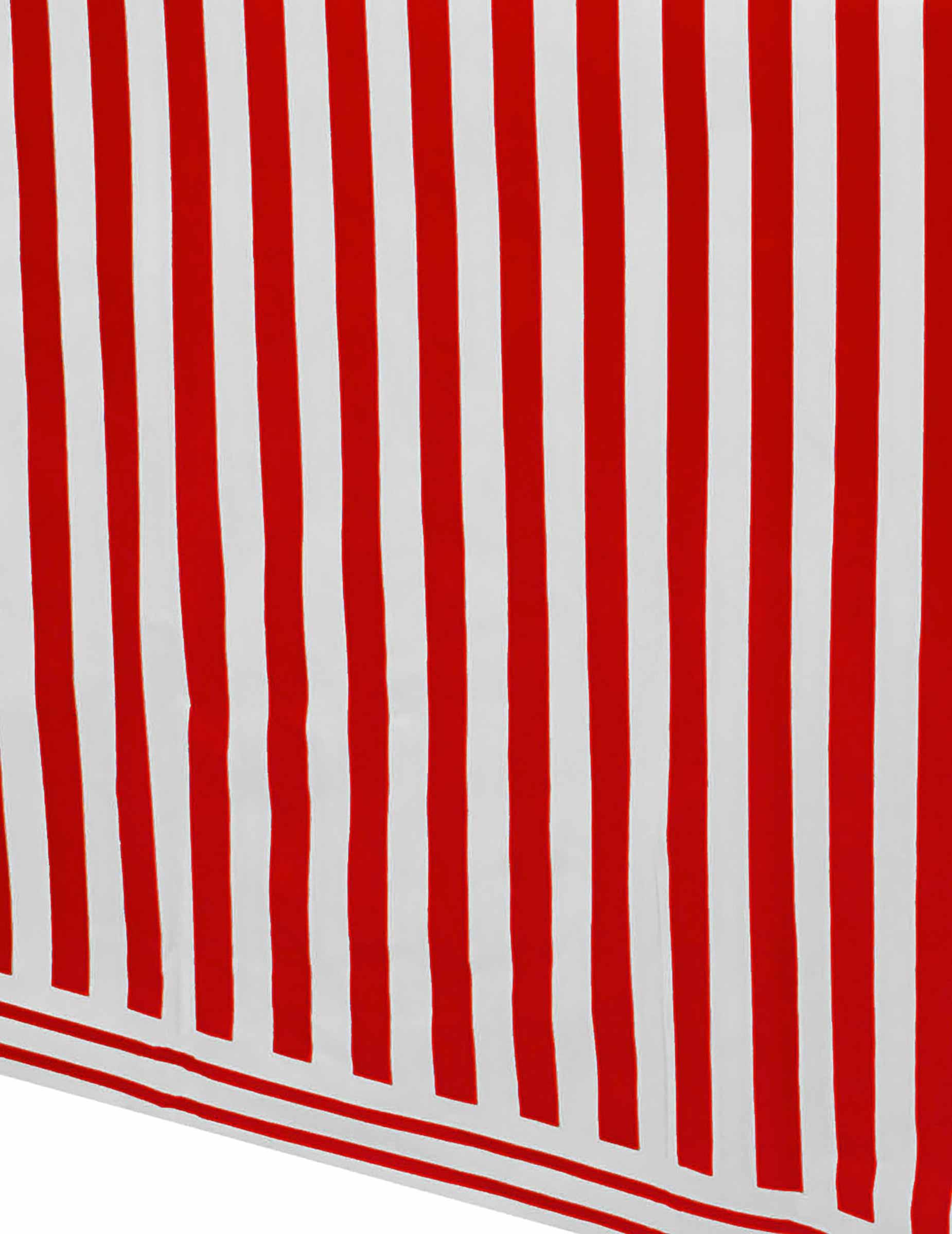 rot wei e gestreifte tischdecke aus plastik 137 x 274 cm partydeko und g nstige. Black Bedroom Furniture Sets. Home Design Ideas