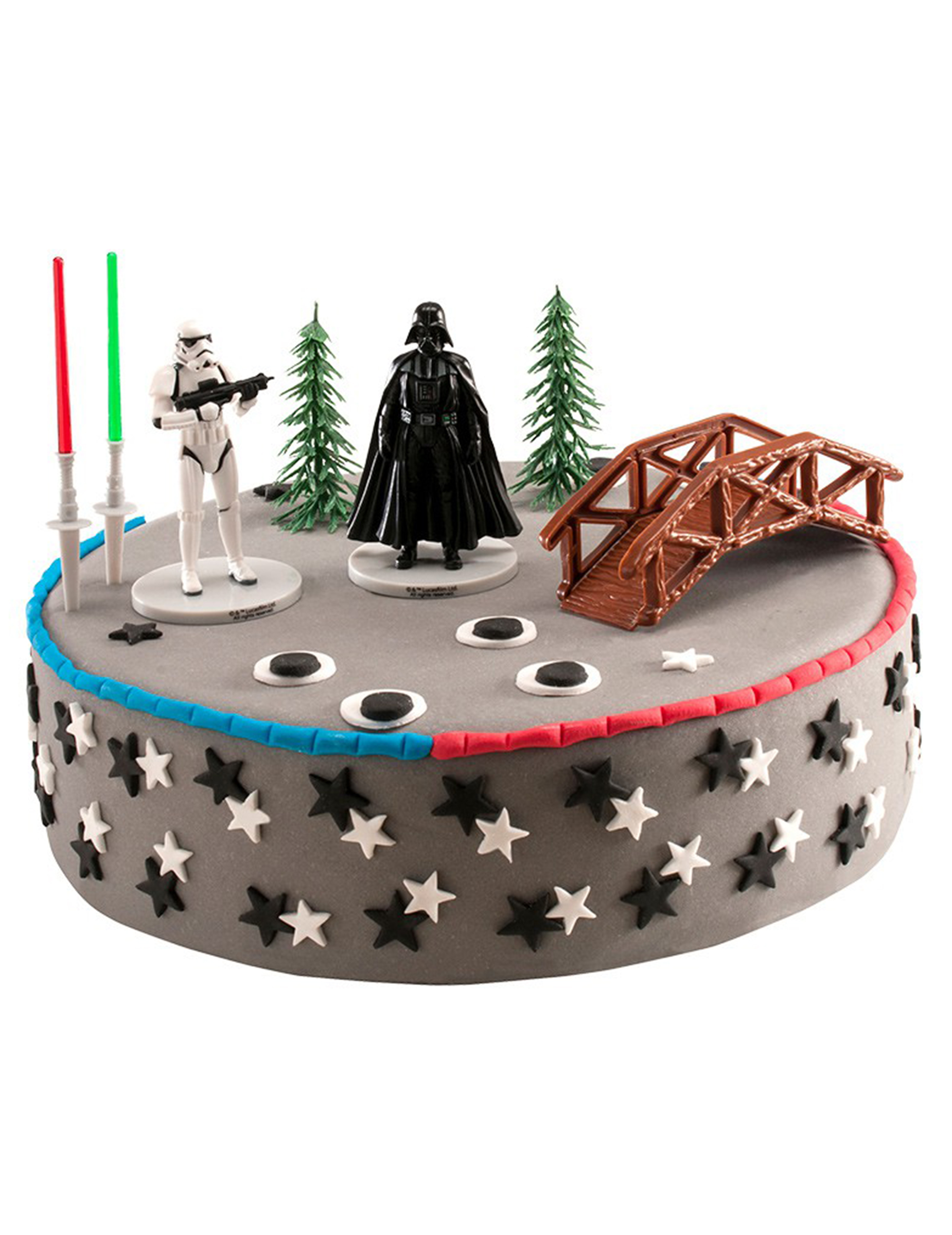 kuchen deko set star wars partydeko und g nstige. Black Bedroom Furniture Sets. Home Design Ideas