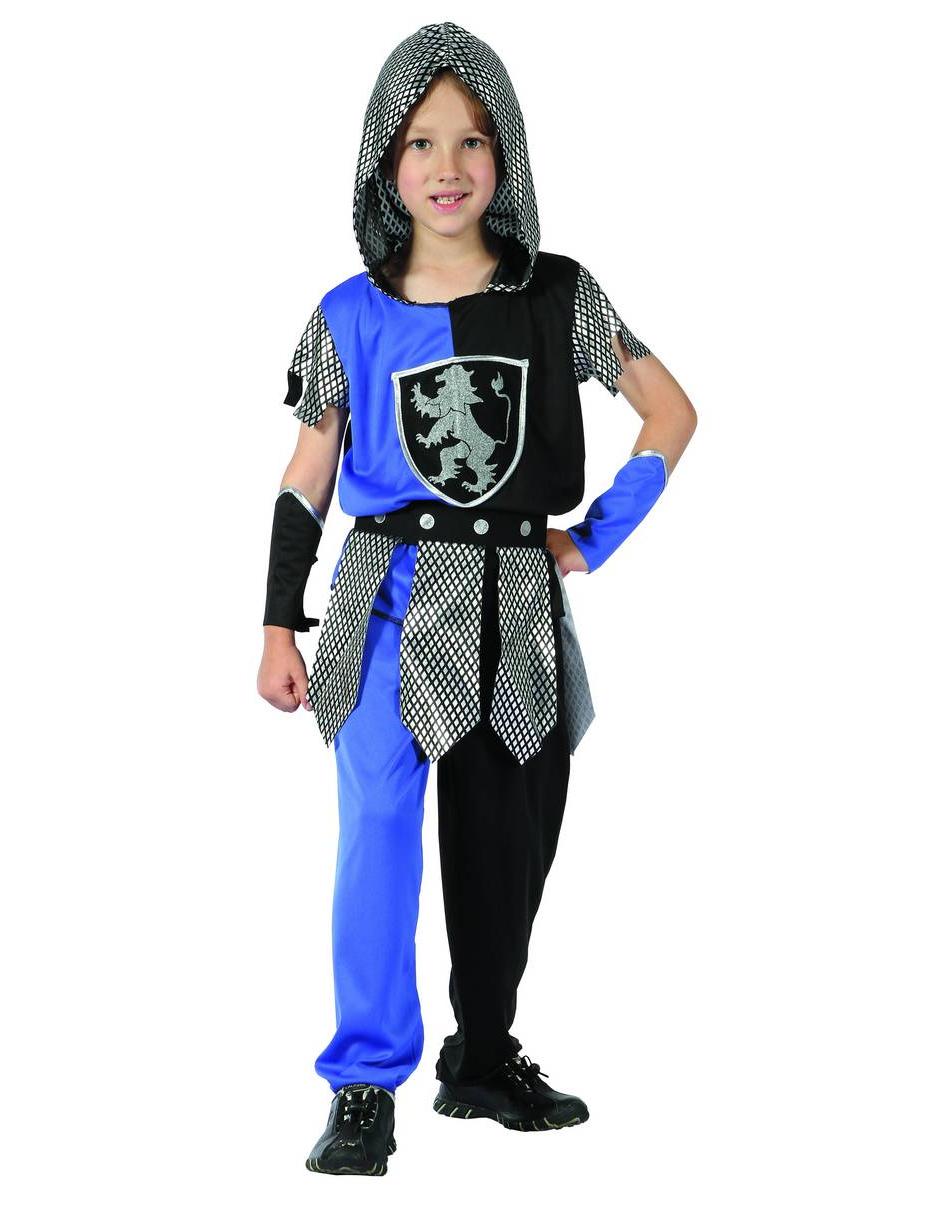 #Ritter-Kostüm Blau Jungen#