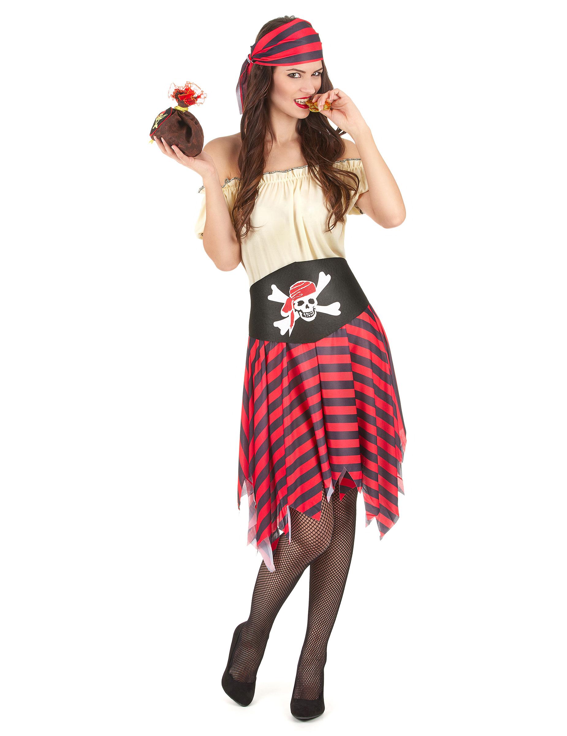 verkleidung piratin kost me f r erwachsene und g nstige faschingskost me vegaoo. Black Bedroom Furniture Sets. Home Design Ideas