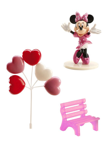 Kuchen Dekoration Minnie Mouse Disney Partydeko Und Gunstige