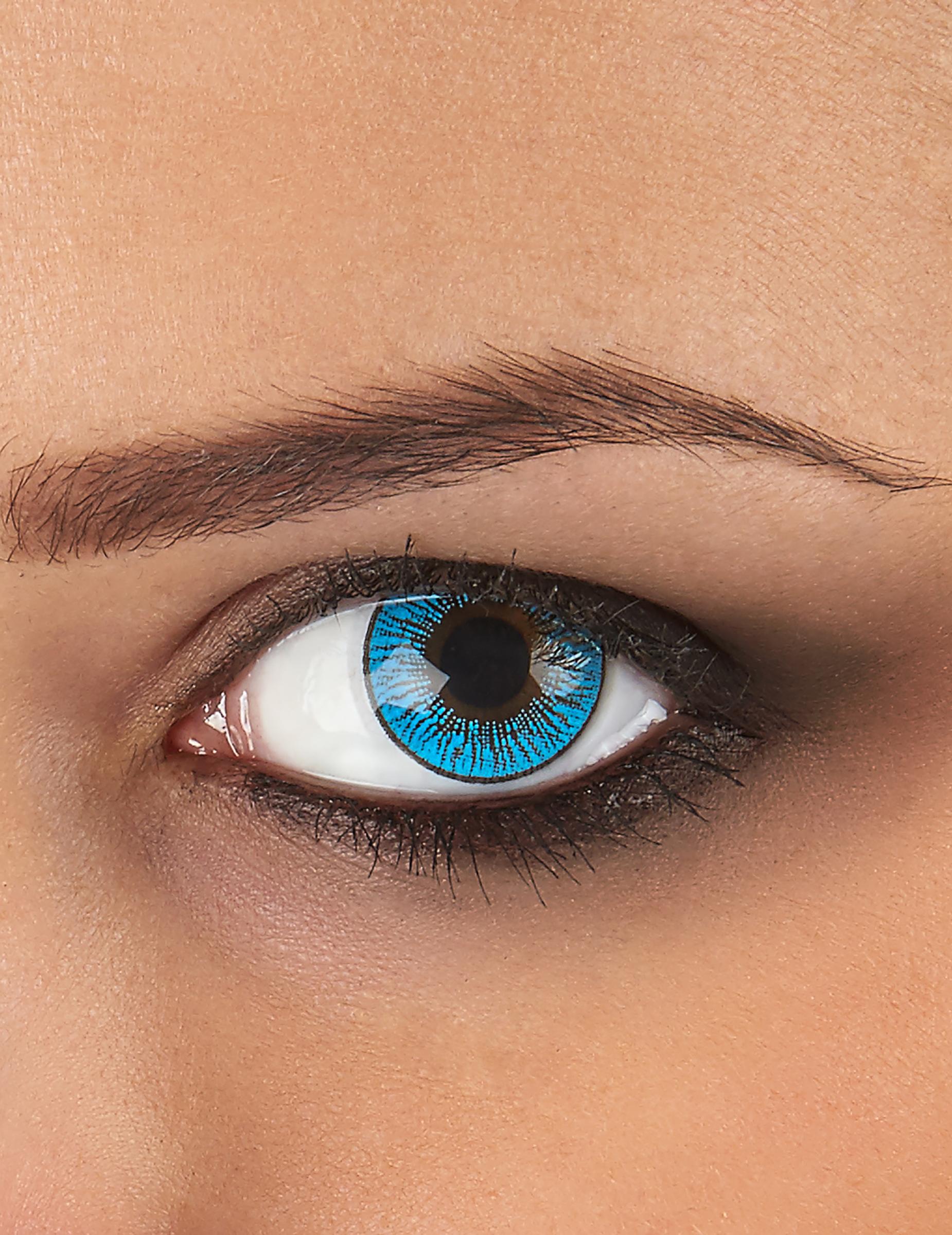 Kontaktlinsen hellblau 75201