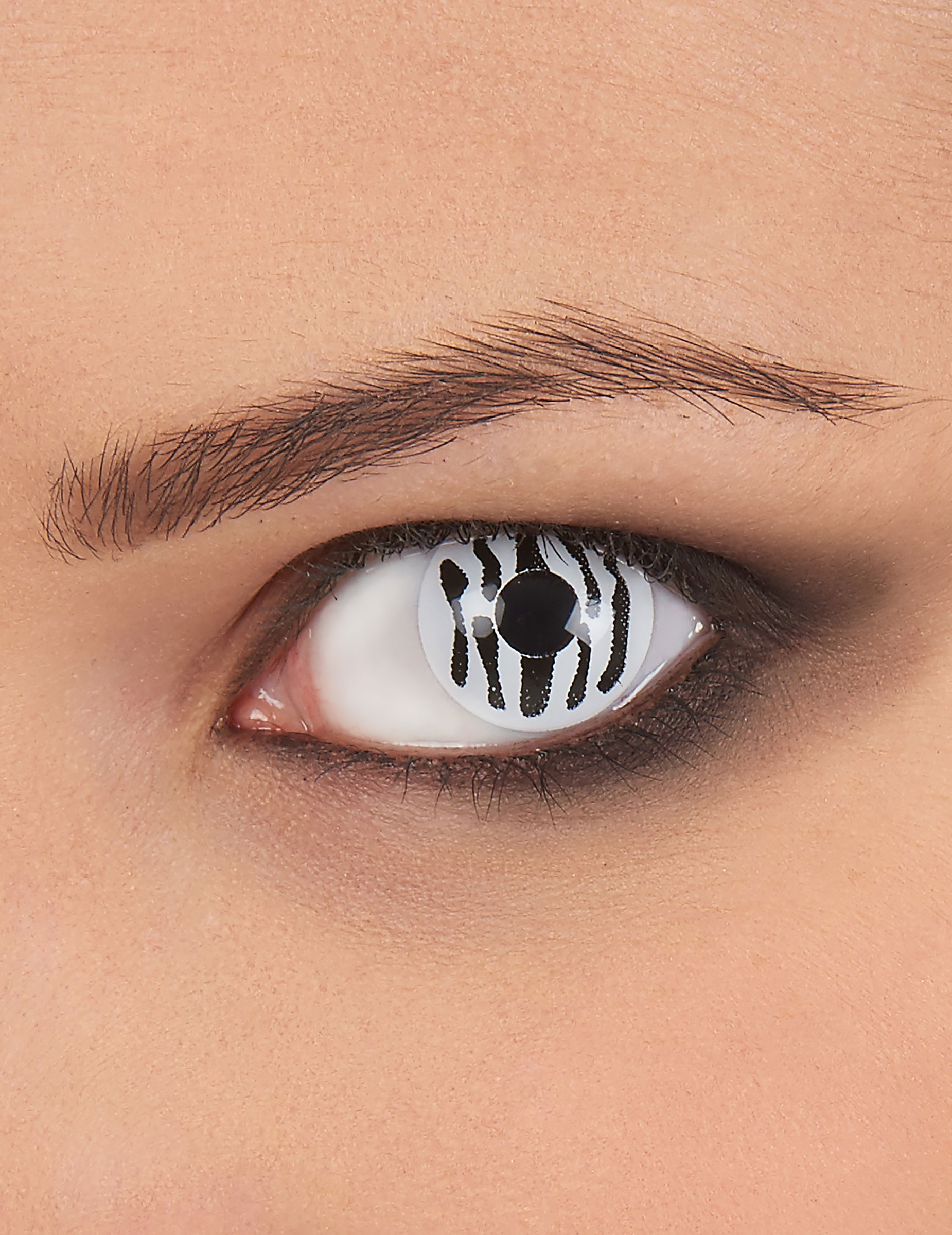 Kontaktlinsen Zebra Schminke Und Gunstige Faschingskostume Vegaoo