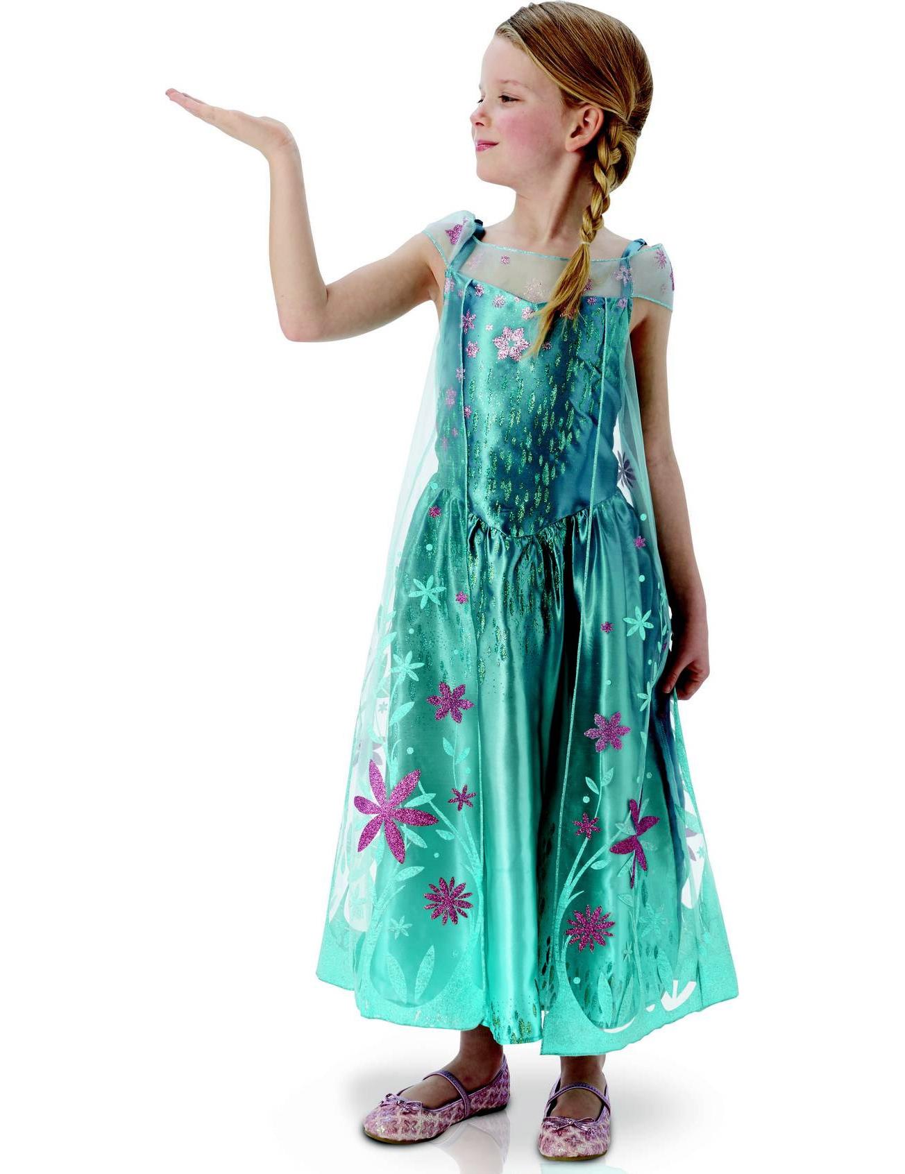 frozen fever elsa kostum fur madchen
