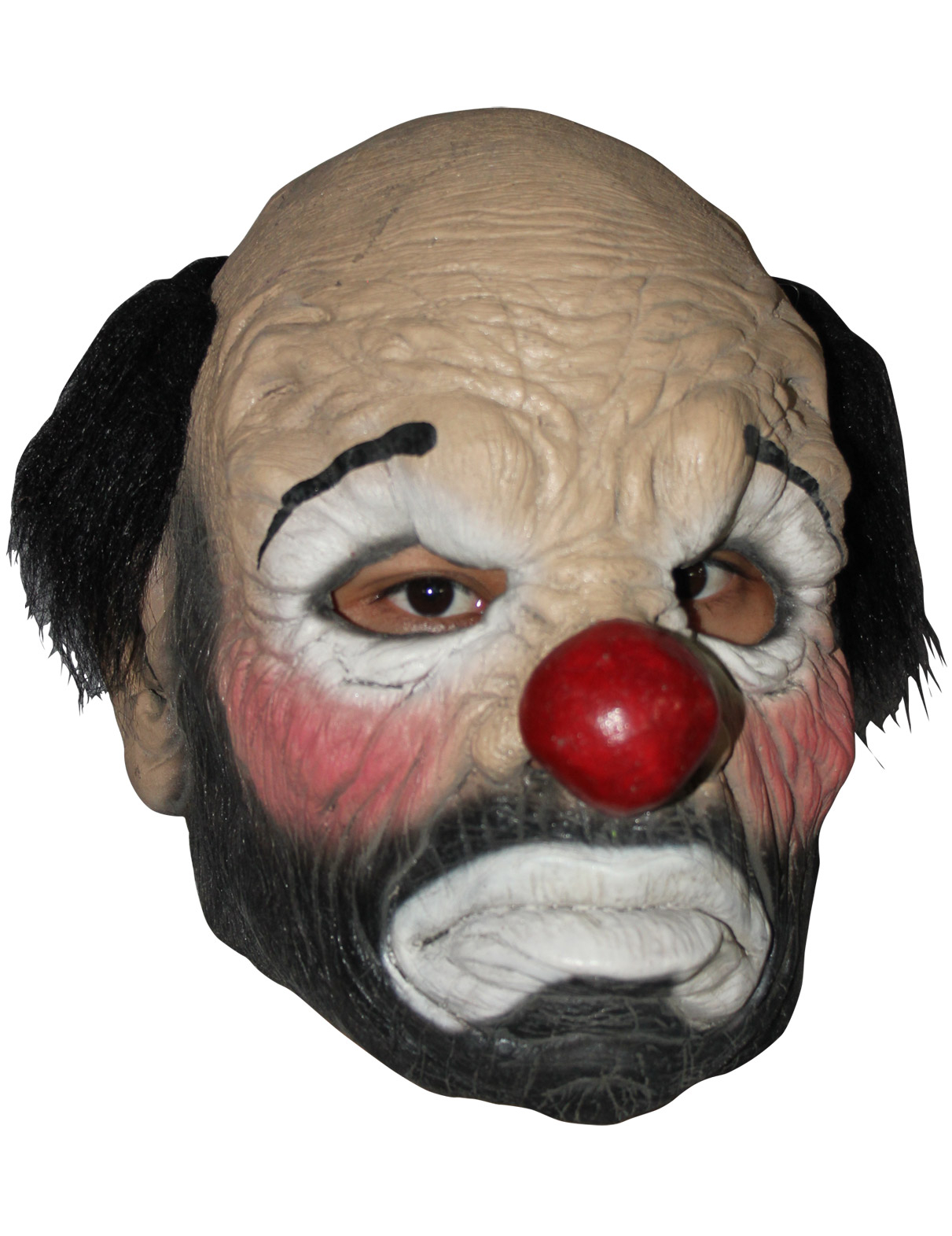Trauriger Clown - Maske 75366