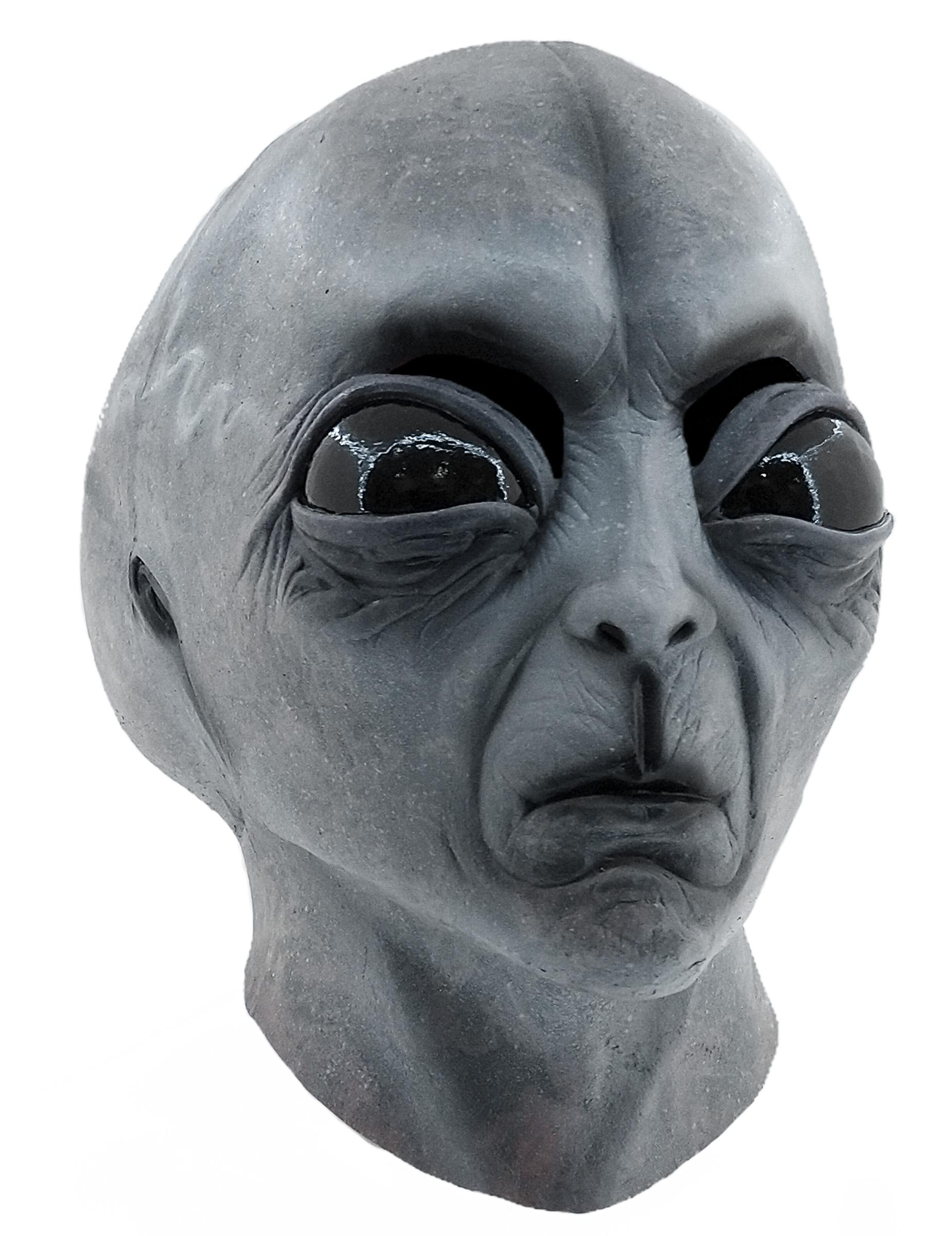Maske AußerirdischerArreal 51 - Hand bemalt 75375